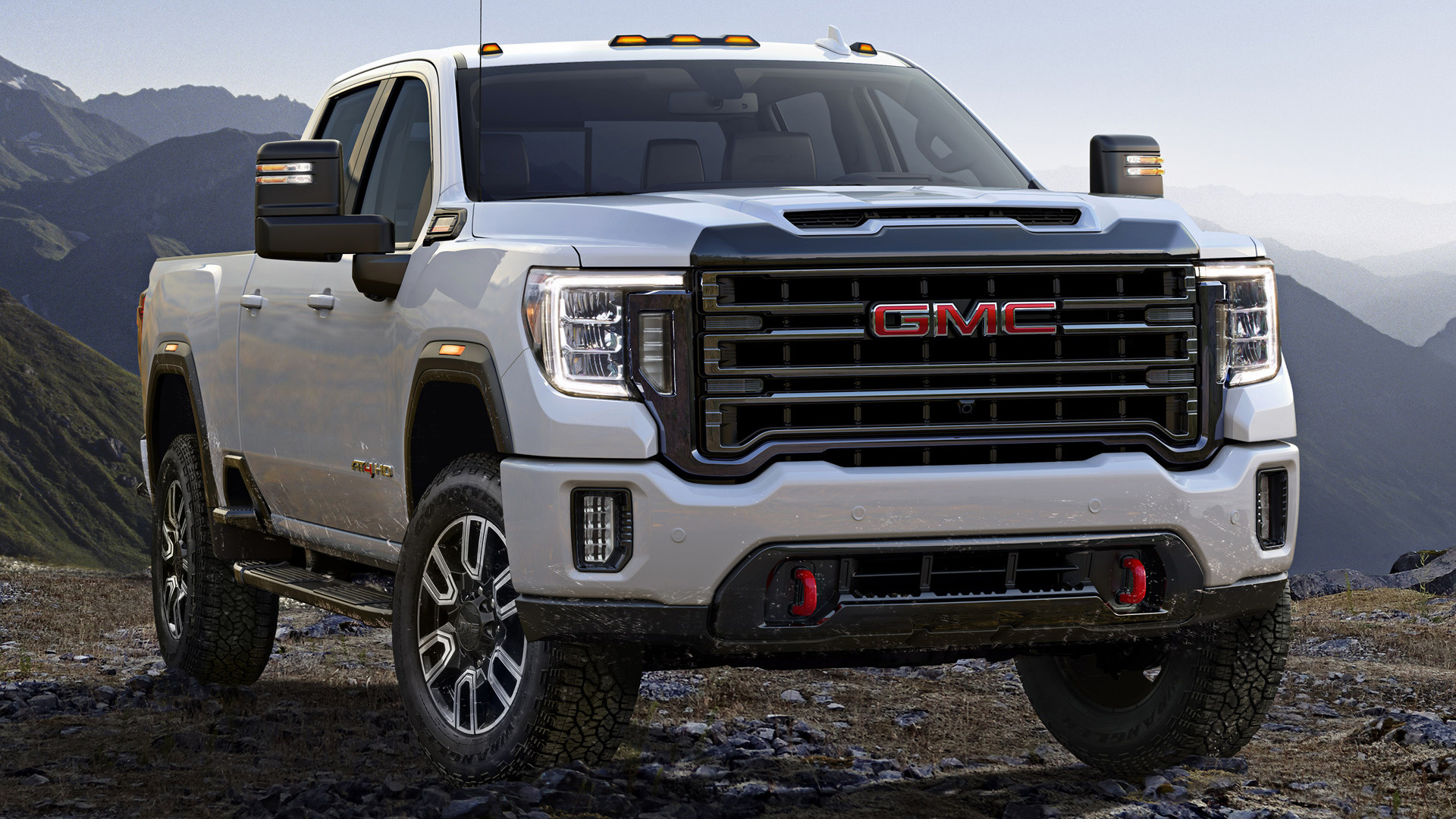 2020 GMC Sierra 2500 HD AT4 Crew Cab - Wallpapers and HD ...