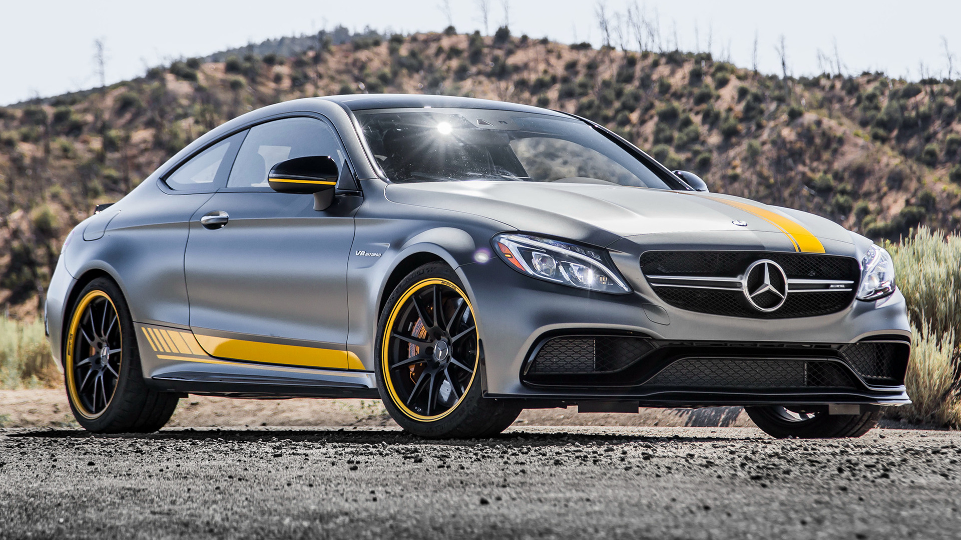 2016 Hyundai Genesis Coupe >> 2017 Mercedes-AMG C 63 S Coupe Edition 1 (US) - Wallpapers and HD Images | Car Pixel