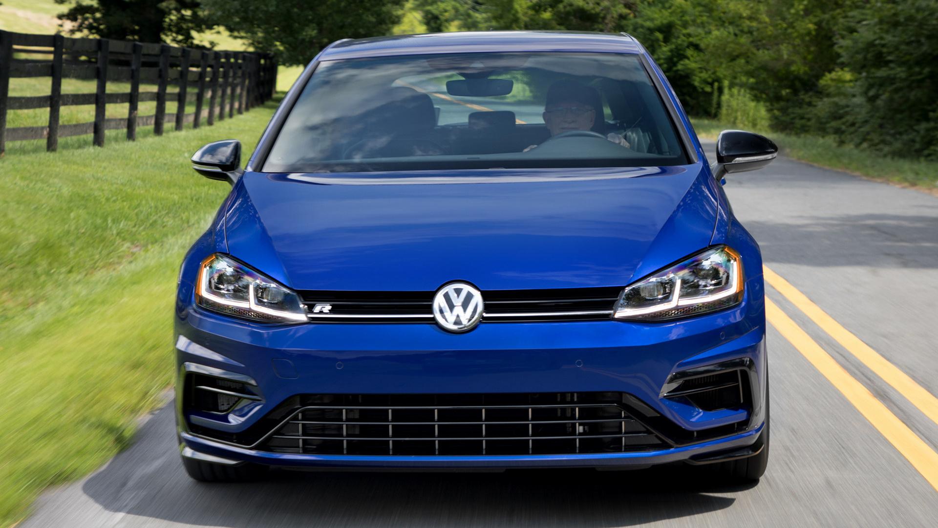 Wallpapers Volkswagen Golf R 5 Door 2018 US Thumbnail 74429 HD 169