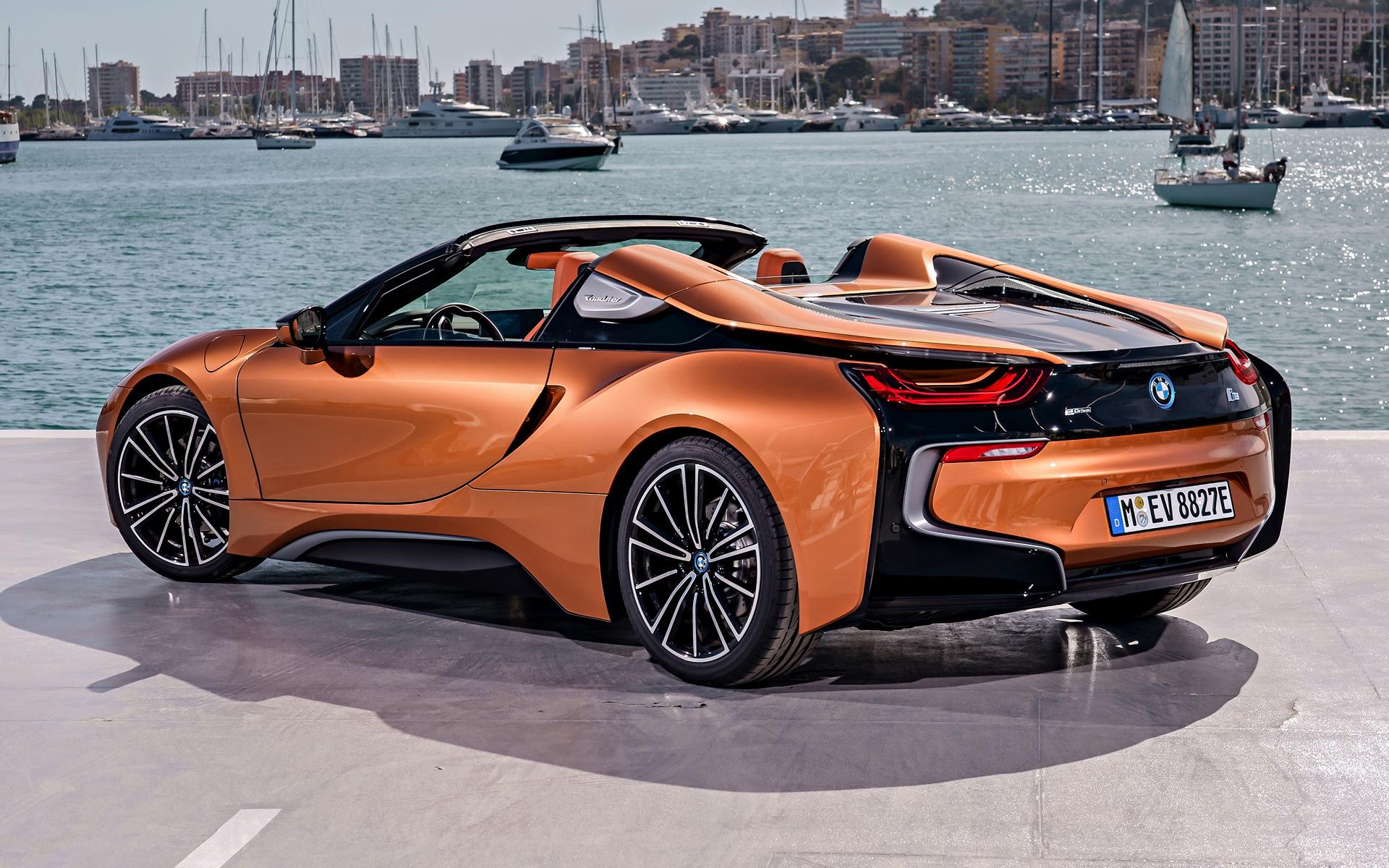 Orange Dodge Ram >> 2018 BMW i8 Roadster - Wallpapers and HD Images | Car Pixel
