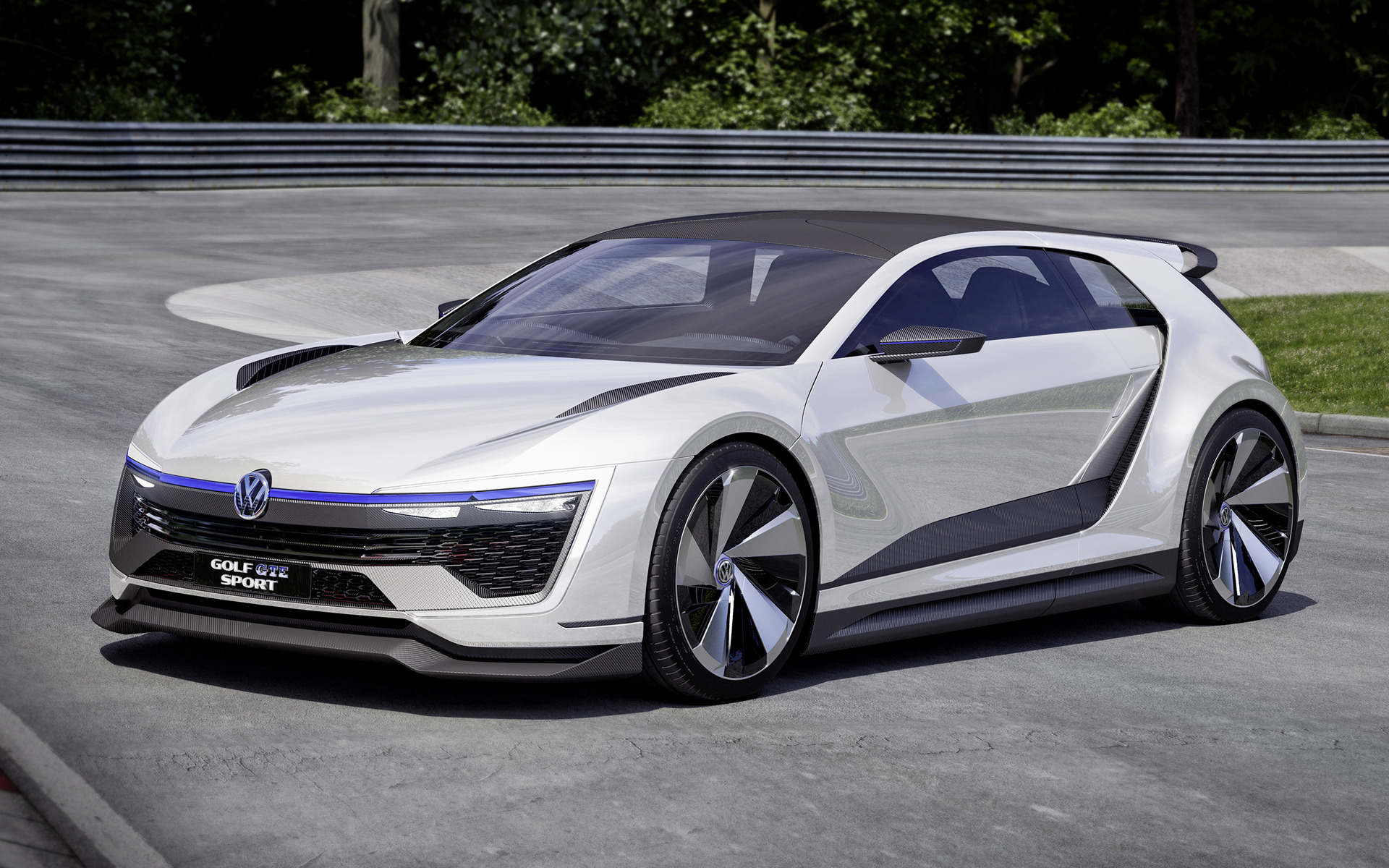 2015 Volkswagen Golf Gte Sport Concept Wallpapers And Hd