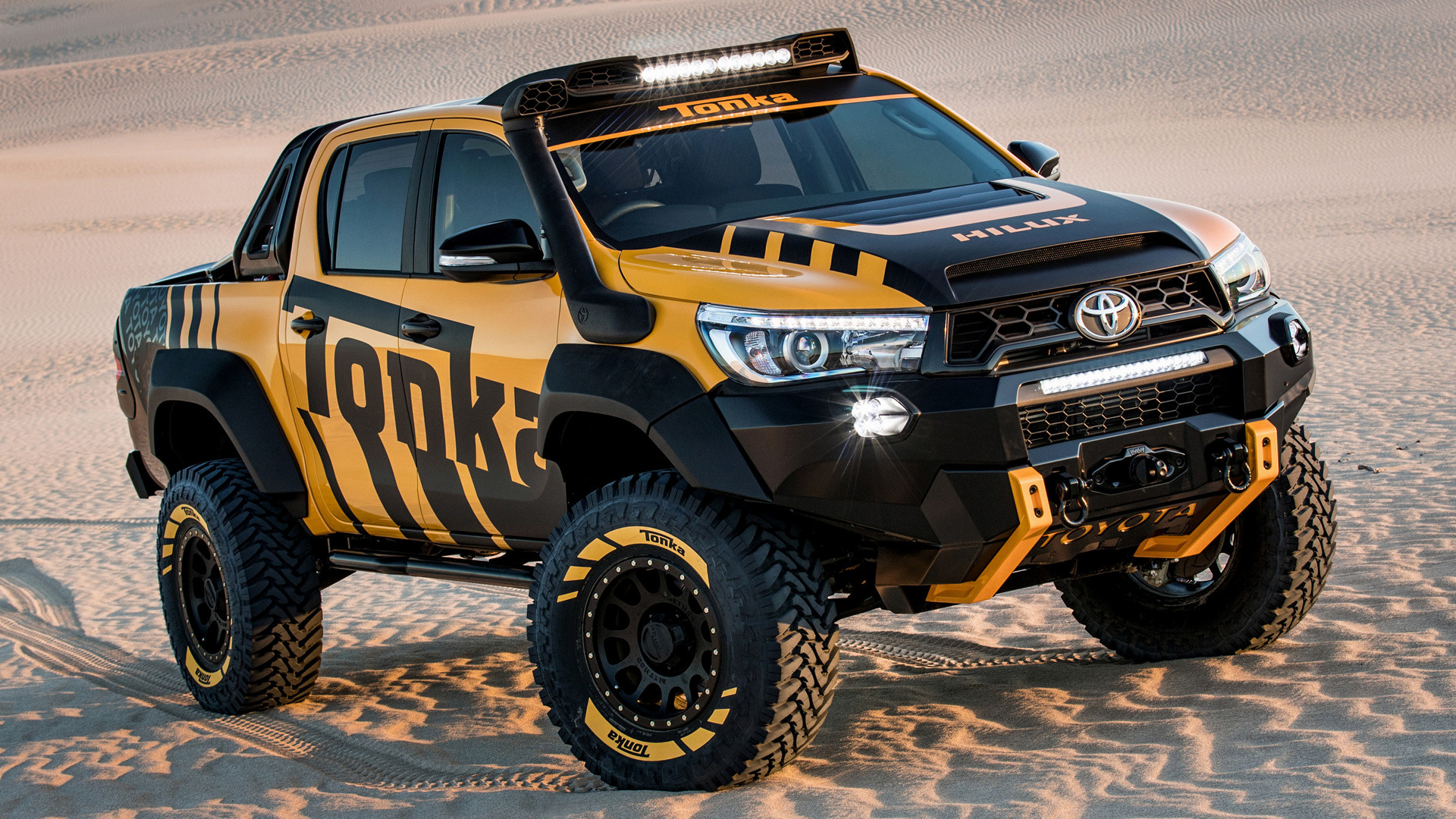 2017 Toyota Hilux Tonka Concept - Wallpapers and HD Images ...