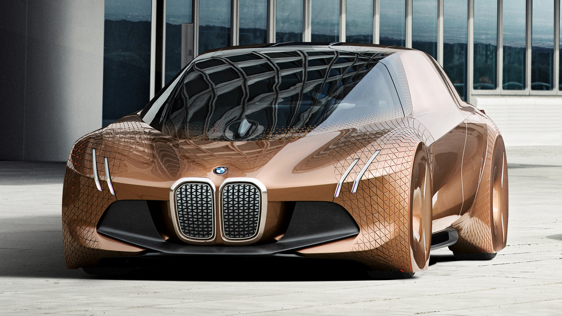 2016 BMW Vision Next 100 - Wallpapers and HD Images | Car ...