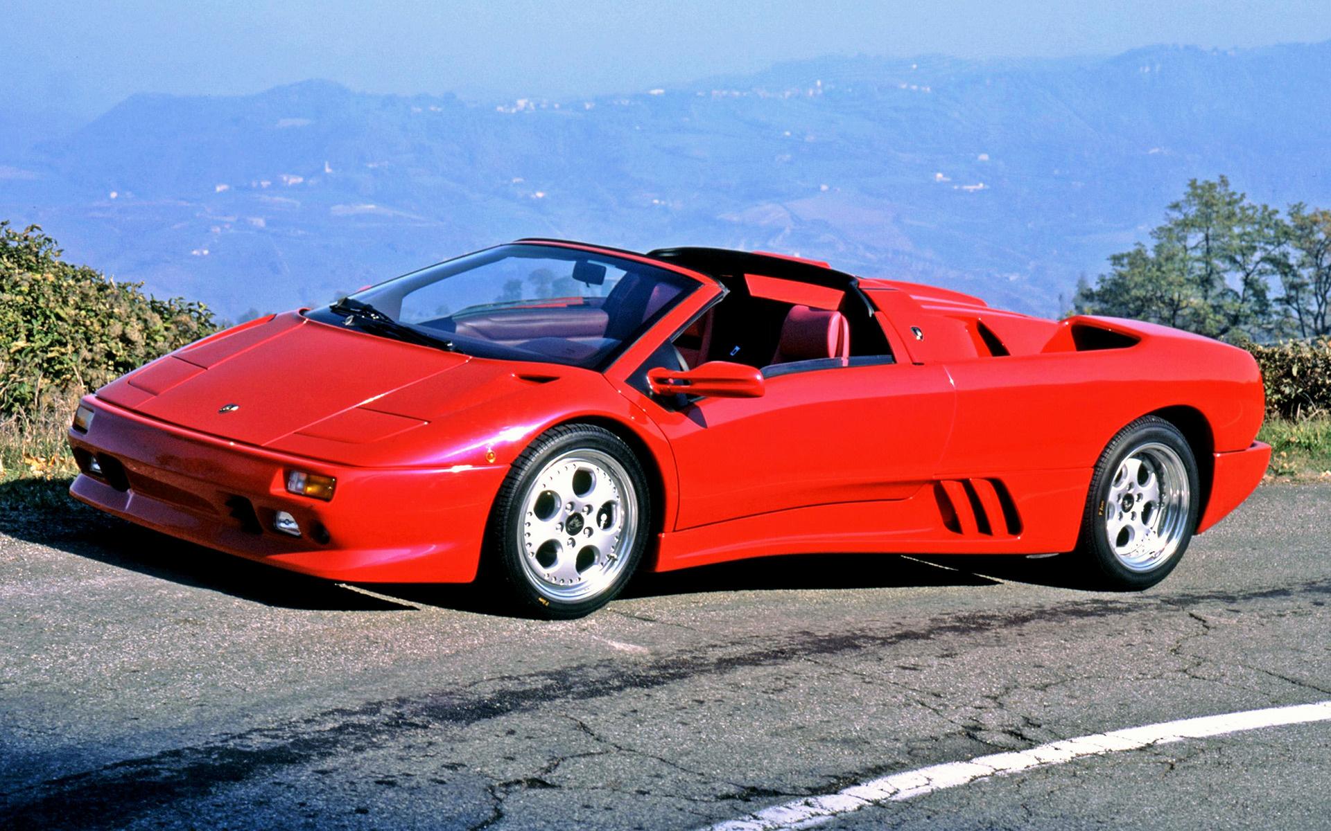 Lamborghini Diablo Vt Roadster 1995 Wallpapers And Hd Images Car Pixel