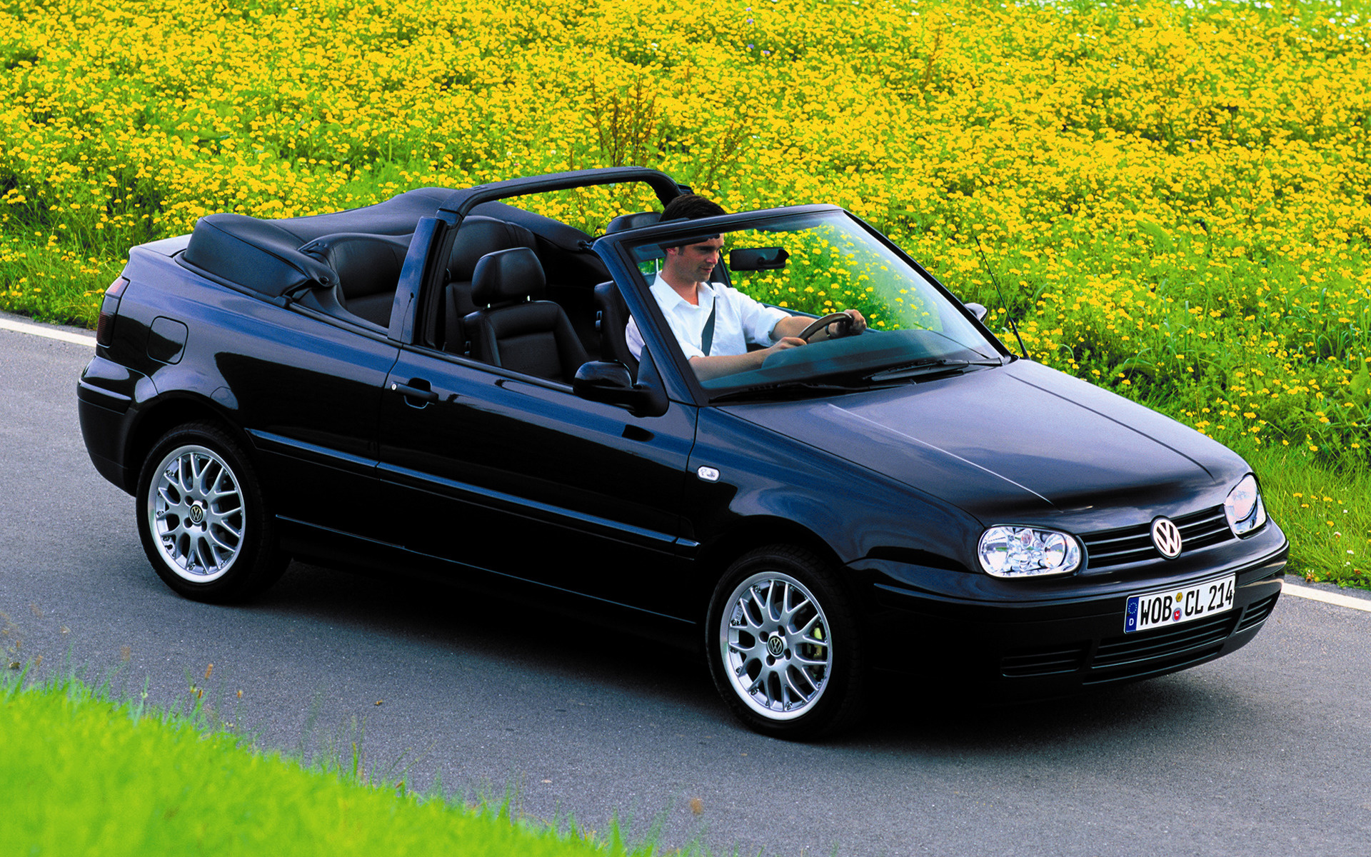 1998 volkswagen golf cabriolet wallpapers and hd images. Black Bedroom Furniture Sets. Home Design Ideas
