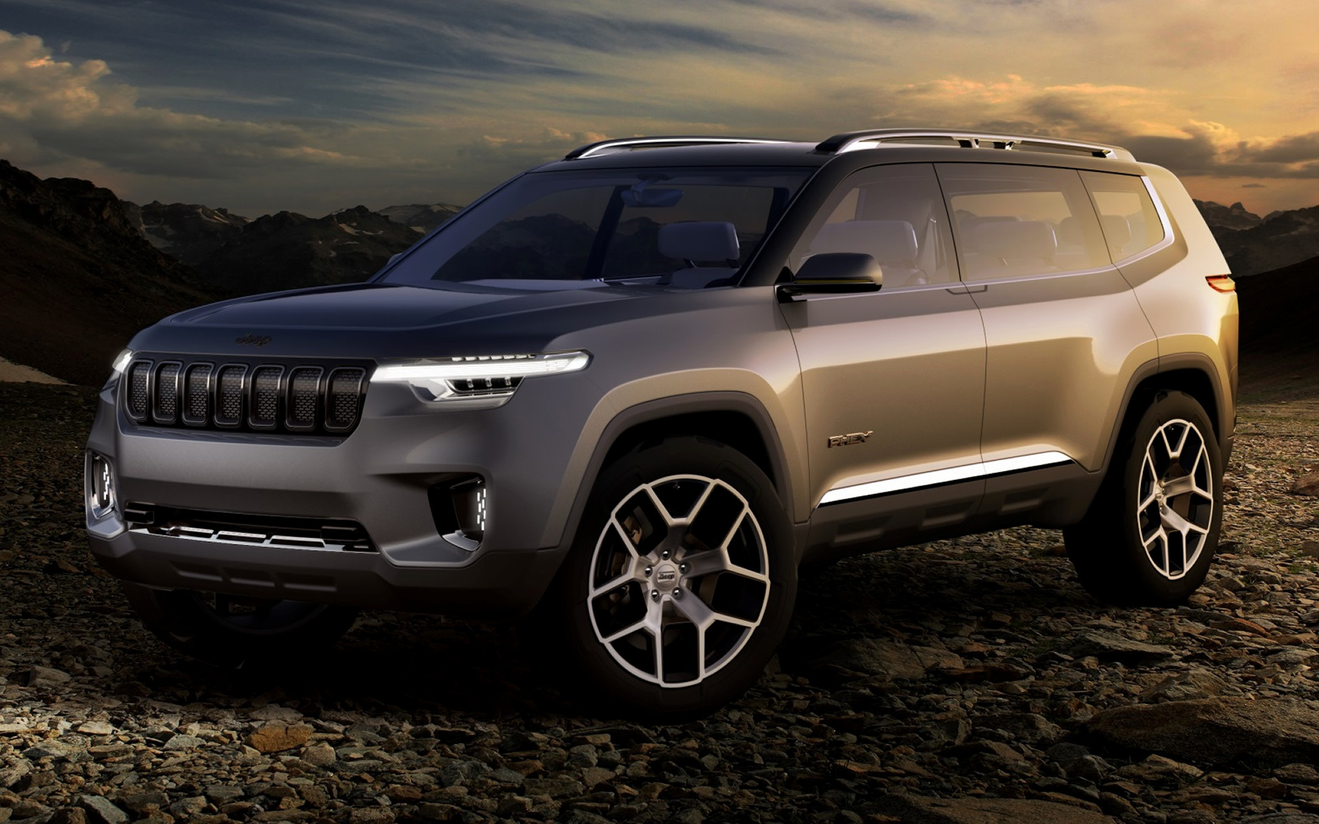 2017 Jeep Yuntu Concept - Wallpapers and HD Images | Car Pixel