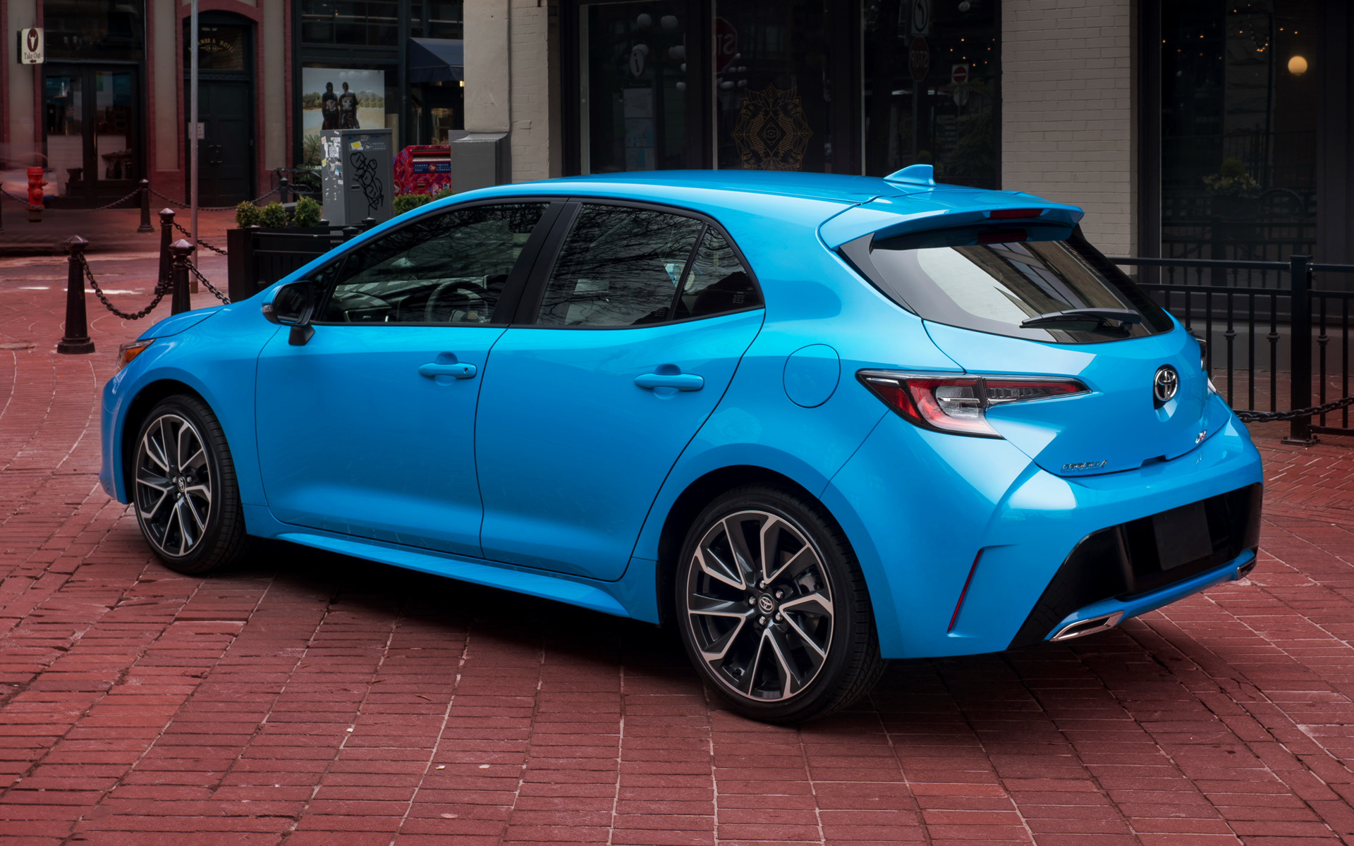toyota corolla xse hatchback wallpapers  hd images car pixel