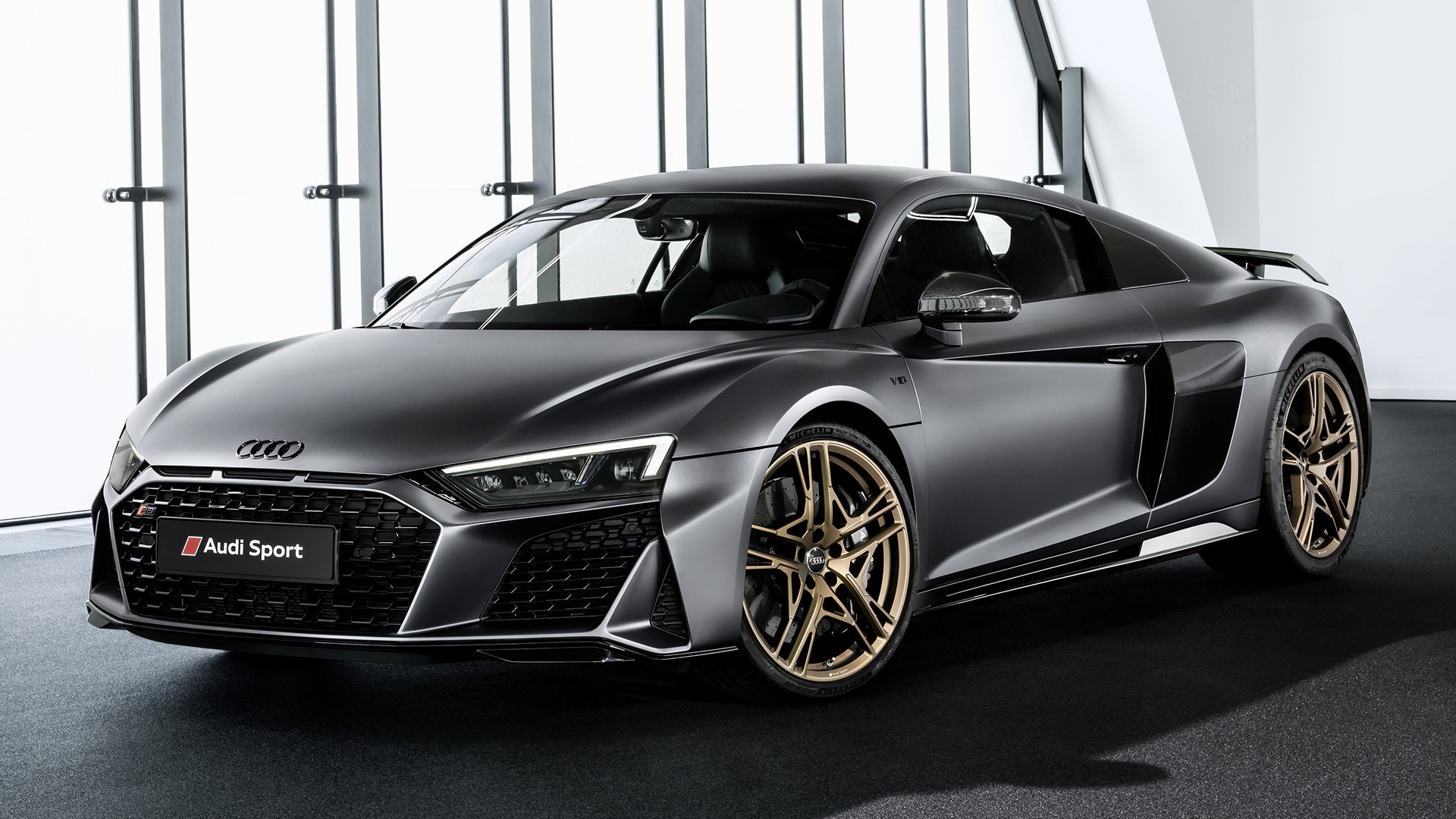 2019 audi r8 coupe decennium wallpapers and hd images. Black Bedroom Furniture Sets. Home Design Ideas
