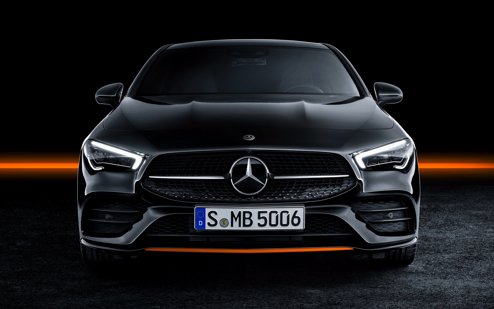 2019 Mercedes Benz Cla Class Orangeart Edition Fonds D Ecran Et Images Hd Car Pixel