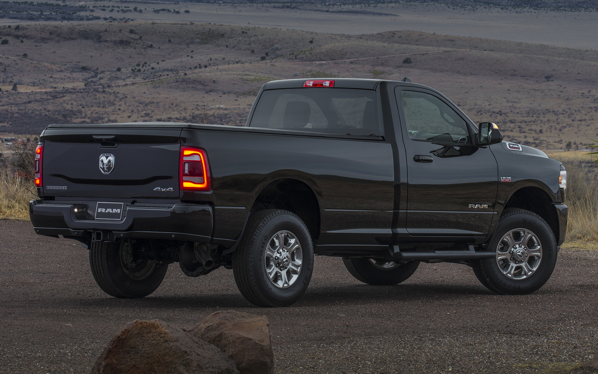 2019 Ram 3500 Big Horn Regular Cab Sport Appearance Package - Wallpapers and HD Images | Car Pixel