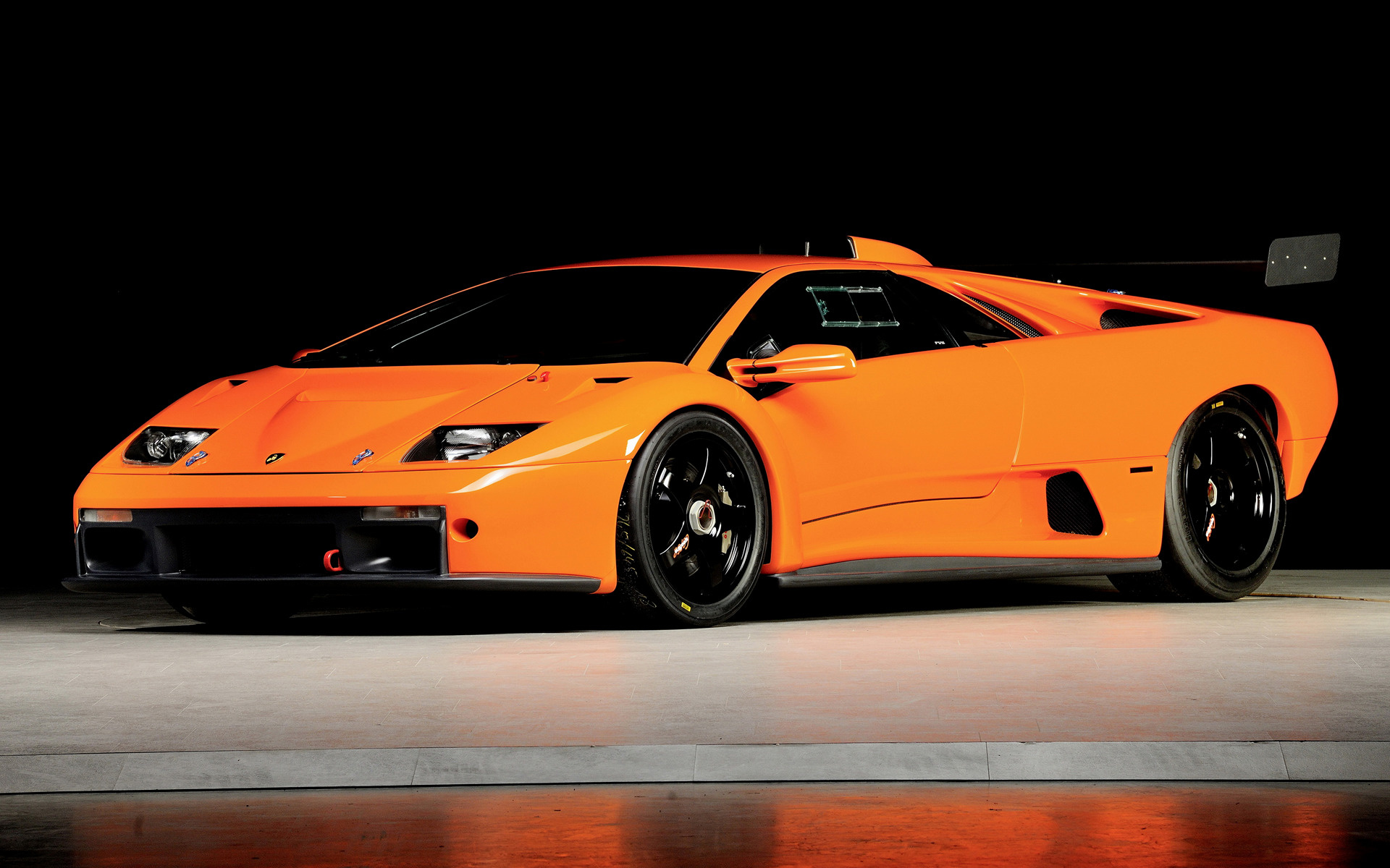 Rolls Royce Bentley >> 2000 Lamborghini Diablo GTR - Wallpapers and HD Images ...