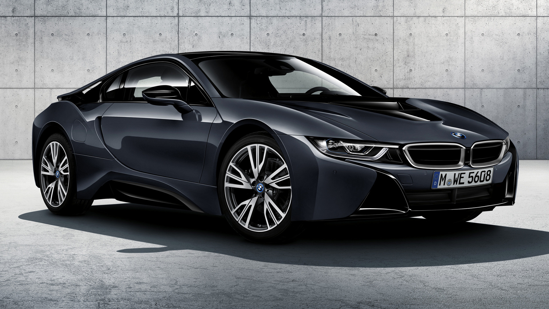 BMW i8 Protonic Dark Silver Edition (2016) Wallpapers and ...