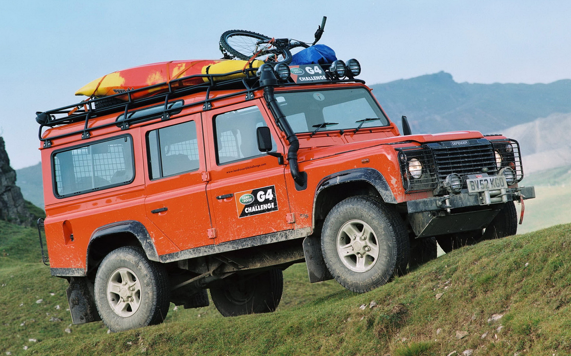 Land Rover Defender 110 >> 2006 Land Rover Defender 110 G4 Challenge - Wallpapers and ...