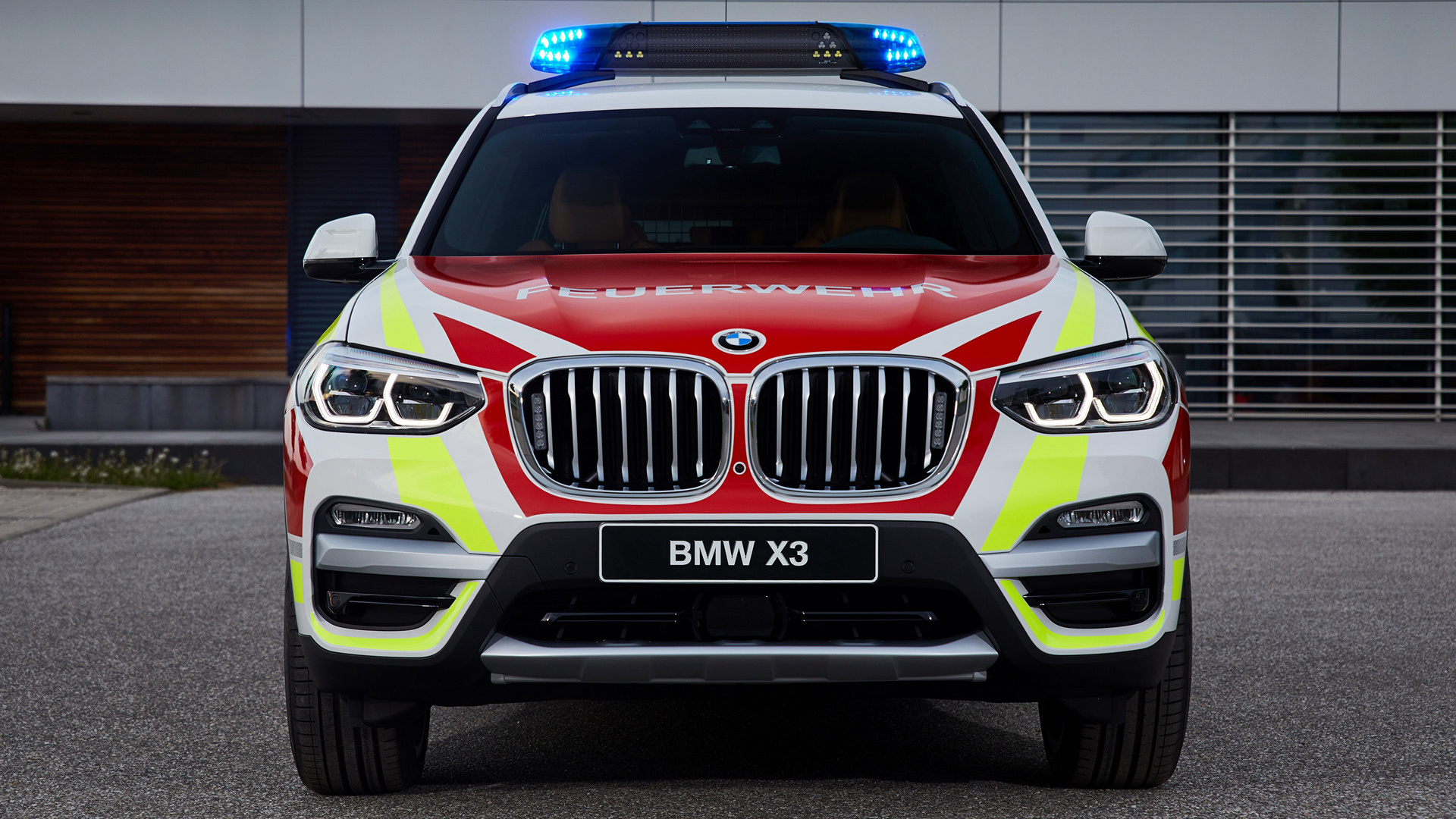 2018 Bmw X3 Feuerwehr