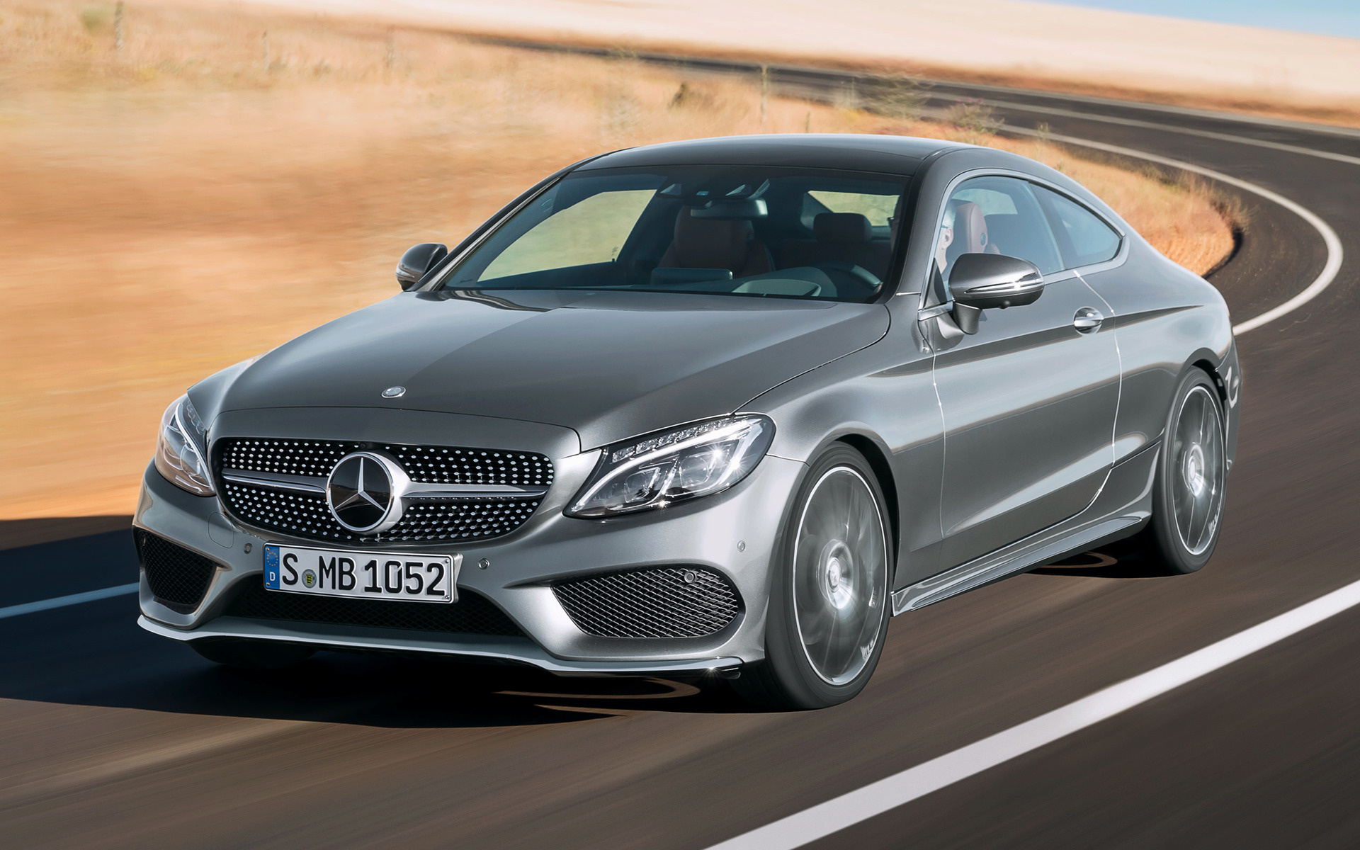2015 Mercedes-Benz C-Class Coupe AMG Line