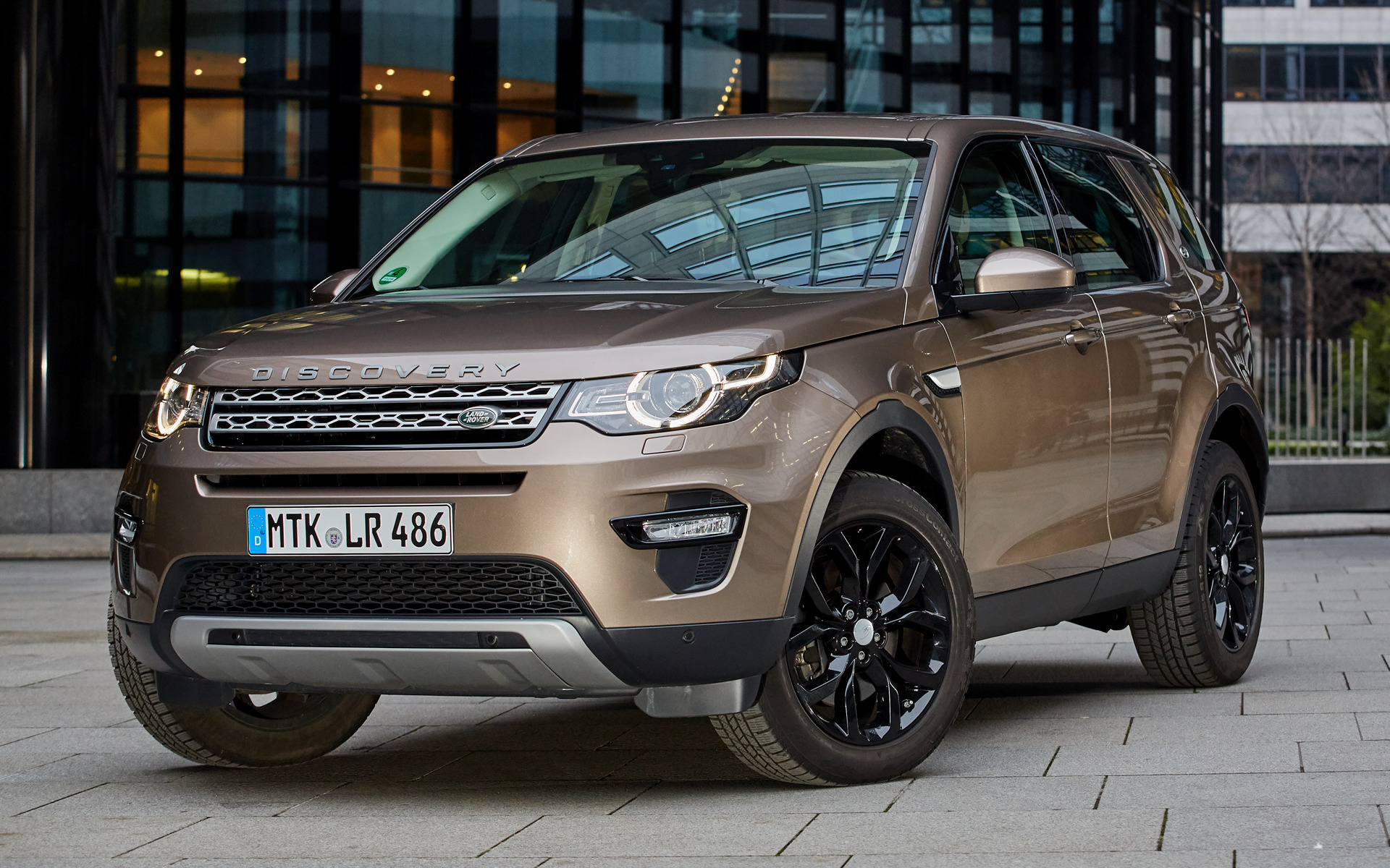 Range Rover Discovery Sport >> 2015 Land Rover Discovery Sport Black Design Pack - Wallpapers and HD Images | Car Pixel