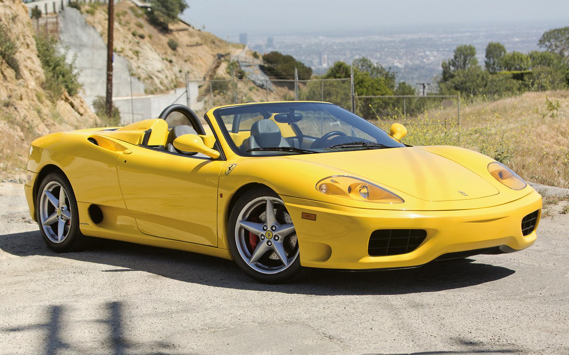 2000 Ferrari 360 Spider Us Hintergrundbilder Und Wallpaper In Hd Car Pixel