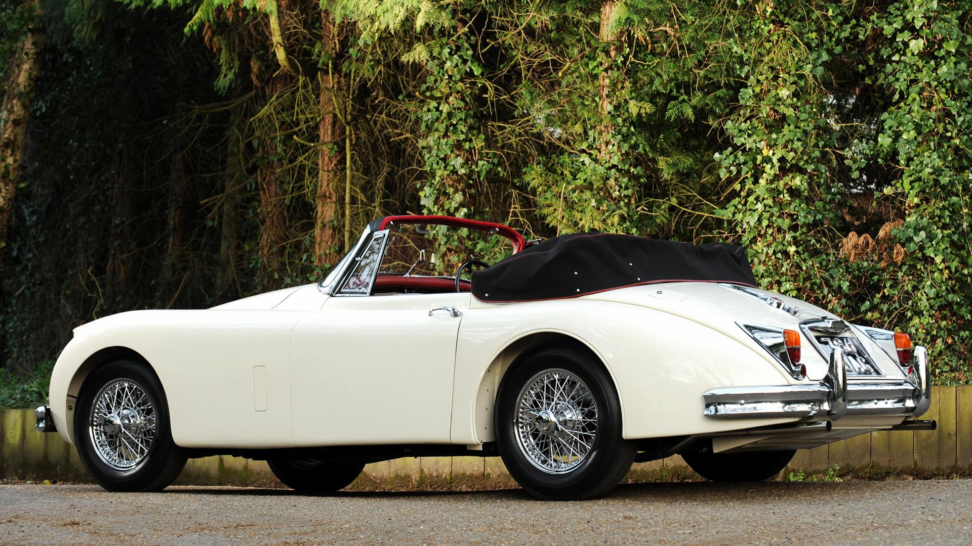 Jaguar xk150 drophead coupe 1958 uk wallpapers and hd images car pixel - Jaguar xk150 drophead coupe ...