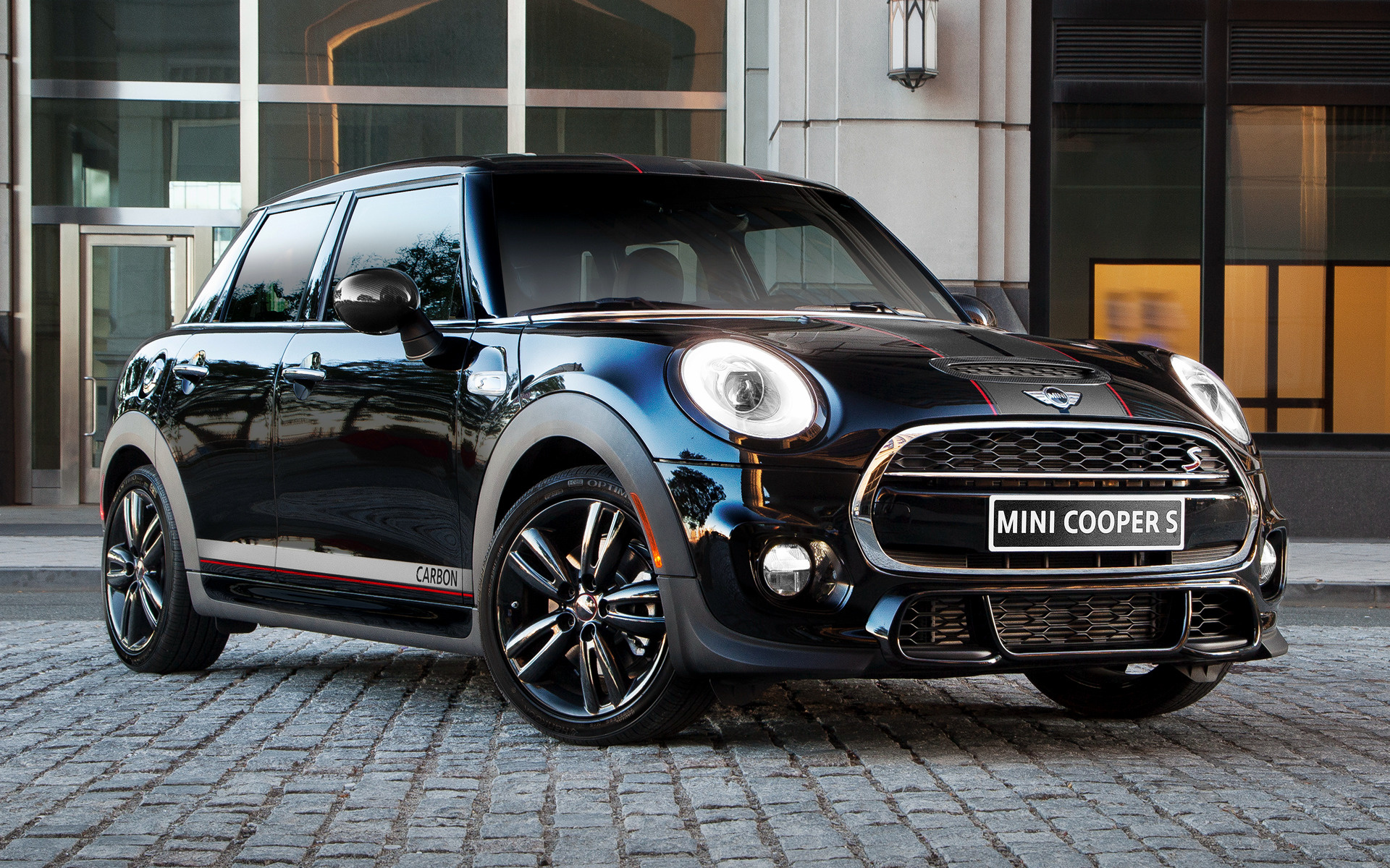Wide 85 & Mini Cooper S Carbon Edition 5-door (2016) US Wallpapers and HD ...