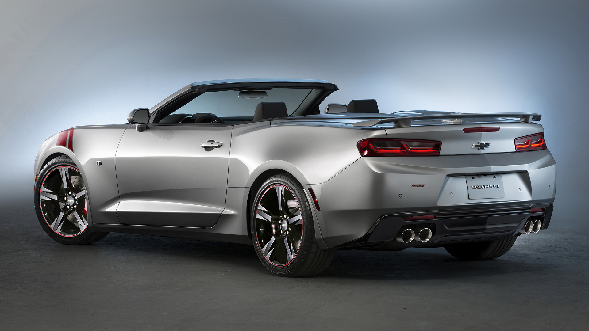 2015 Chevrolet Camaro SS Convertible Red Accent Concept ...