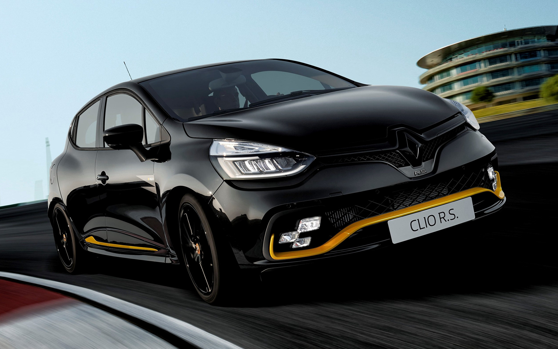 2018 Renault Clio Rs 18 Wallpapers And Hd Images Car Pixel