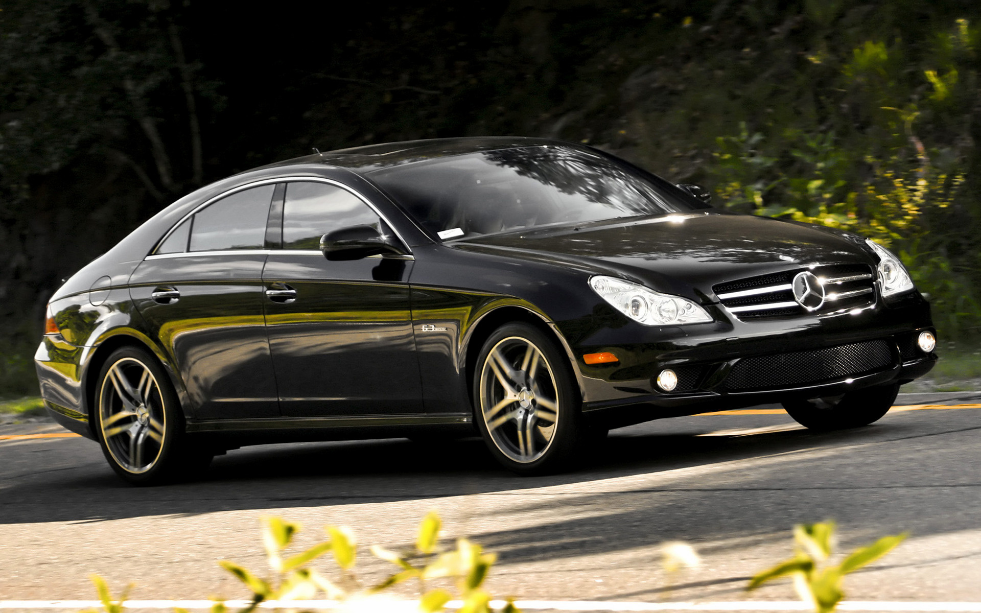 mercedes benz cls 63 amg 2008 us wallpapers and hd images car pixel. Black Bedroom Furniture Sets. Home Design Ideas