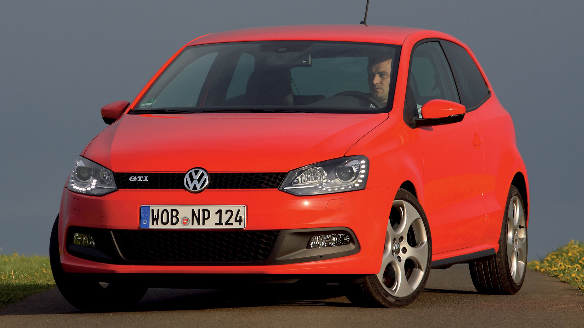 volkswagen polo gti 3 door 2010 wallpapers and hd images car pixel. Black Bedroom Furniture Sets. Home Design Ideas