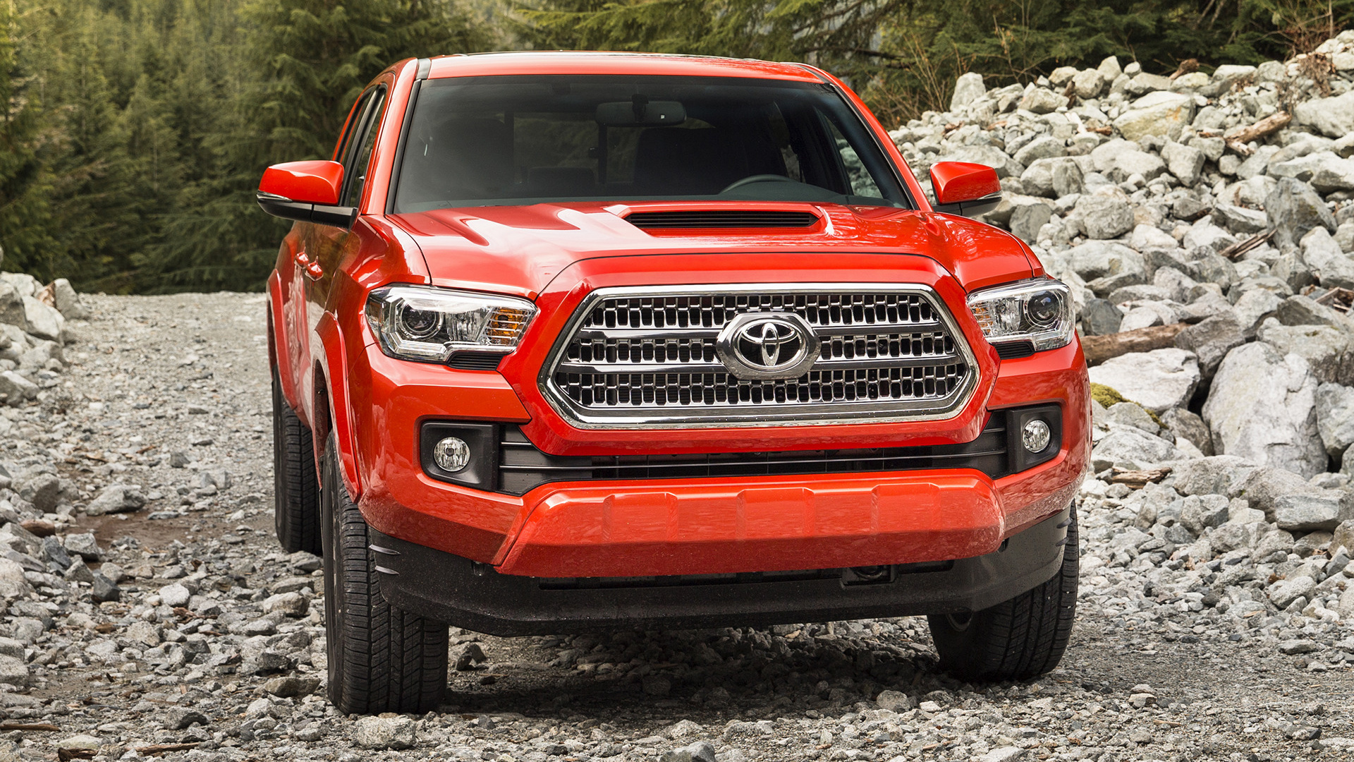 Toyota tacoma trd sport double cab 2016 wallpapers and hd images hd 169 voltagebd Choice Image