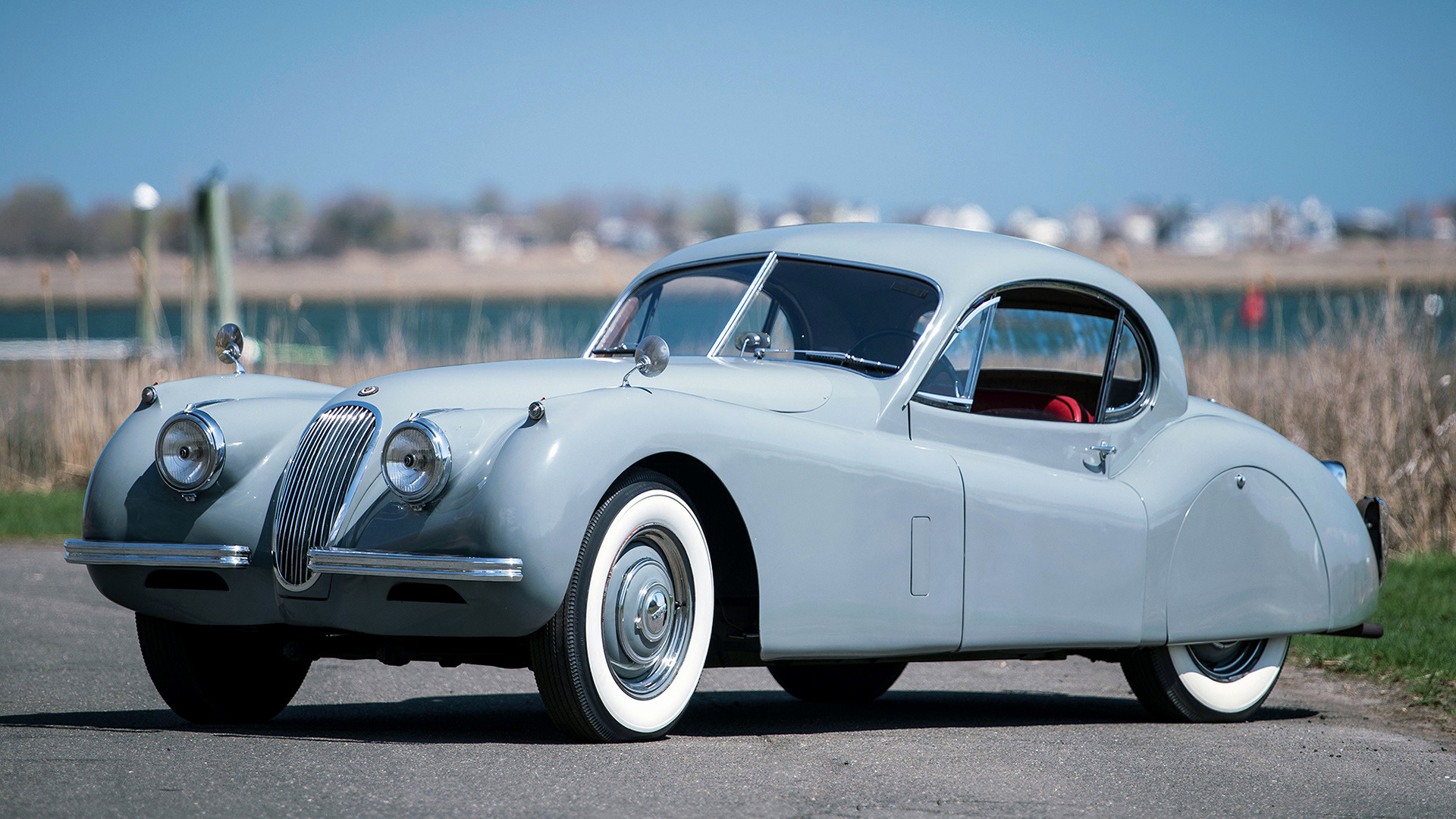 1951 Jaguar Xk120 Fixed Head Coupe Wallpapers And Hd