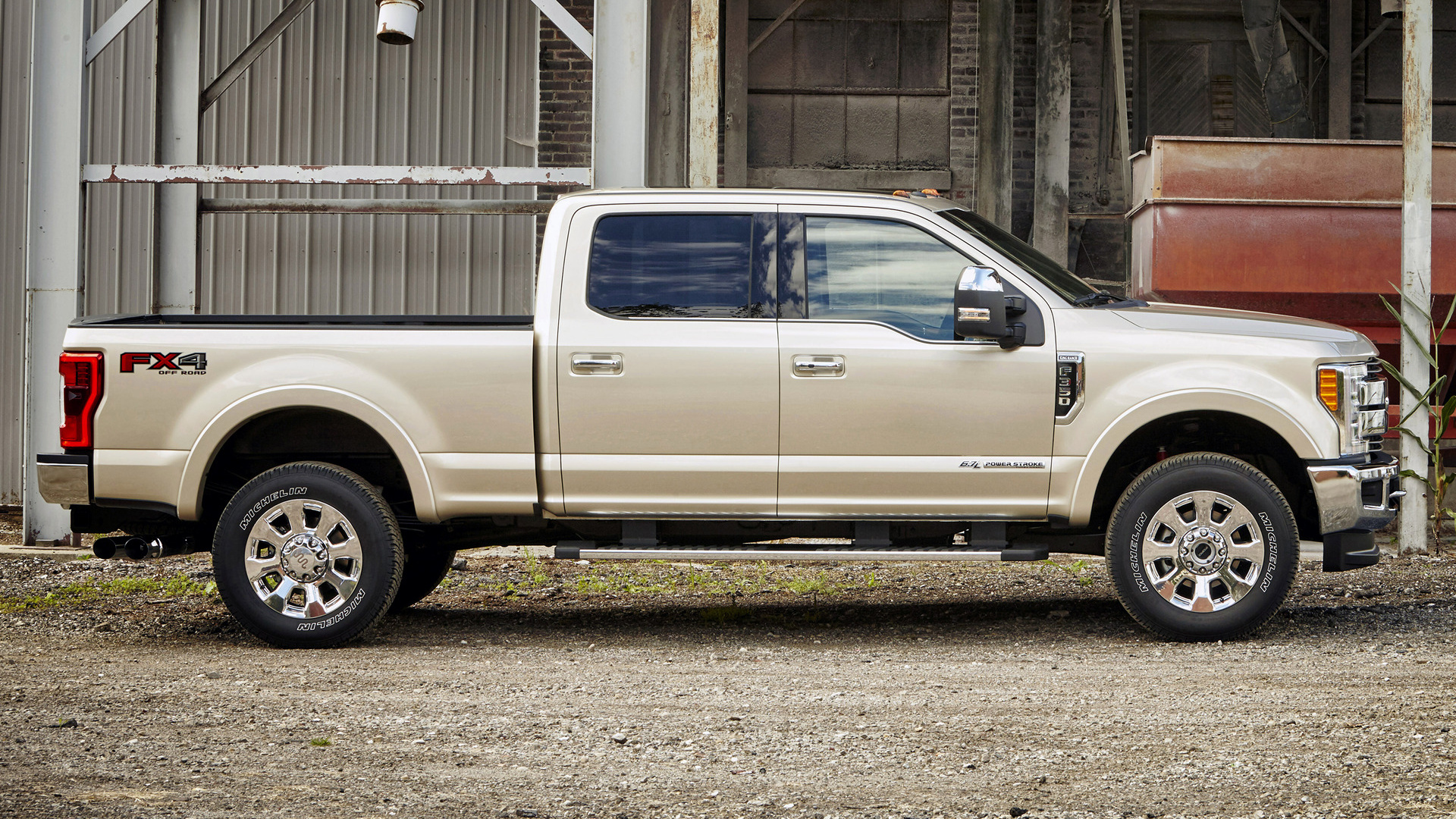 Ford F-350 King Ranch FX4 Crew Cab (2017) Wallpapers and HD Images - Car Pixel