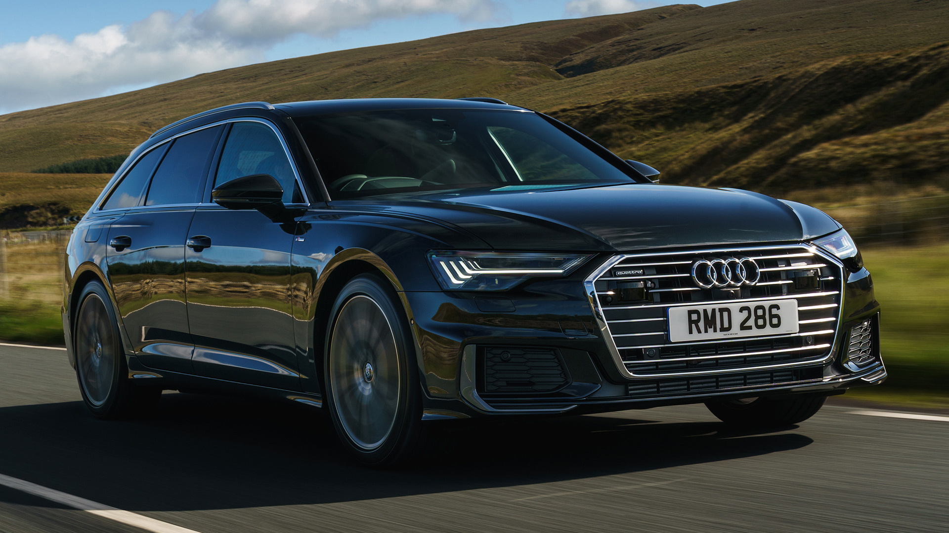 2018 Audi A6 Avant S Line Uk Wallpapers And Hd Images