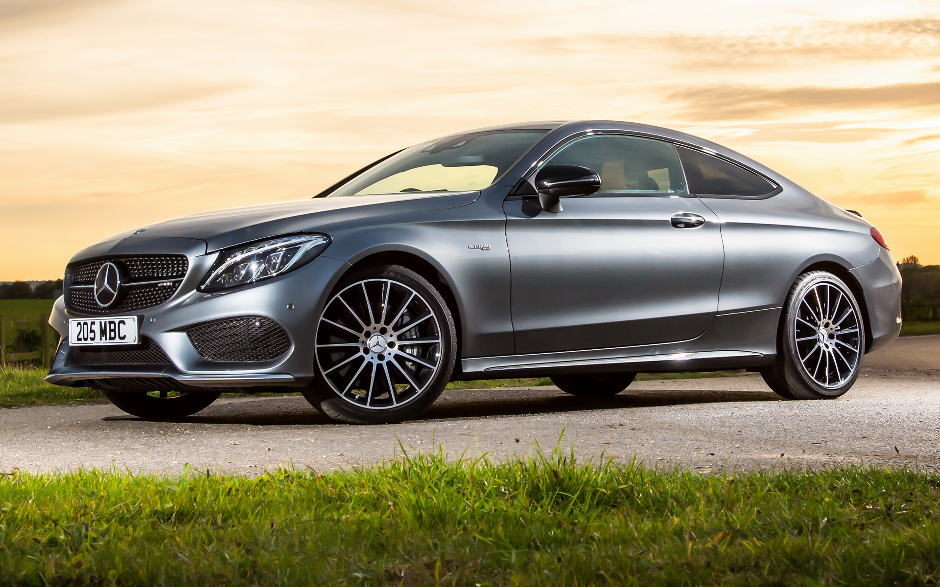 Mercedes C Class Coupe >> Mercedes-AMG C 43 Coupe (2016) UK Wallpapers and HD Images - Car Pixel