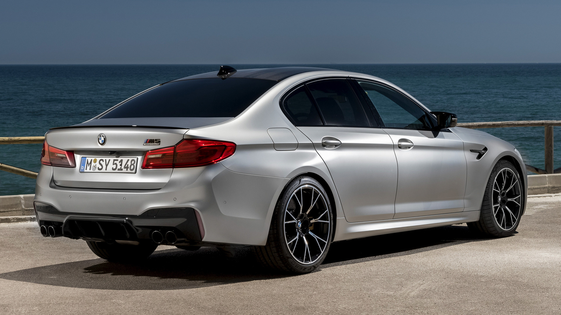 All Car Brands >> 2018 BMW M5 Competition - Wallpapers and HD Images | Car Pixel