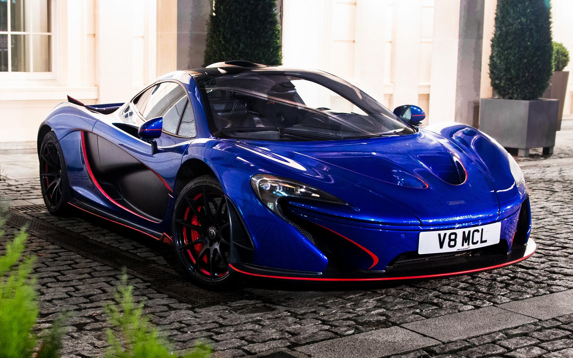 Wide 85 McLaren P1