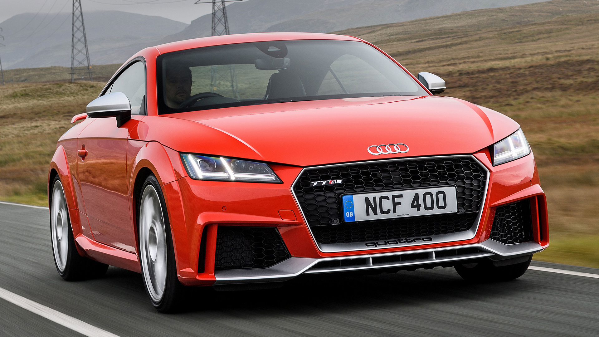 2016 audi tt rs coupe uk wallpapers and hd images. Black Bedroom Furniture Sets. Home Design Ideas