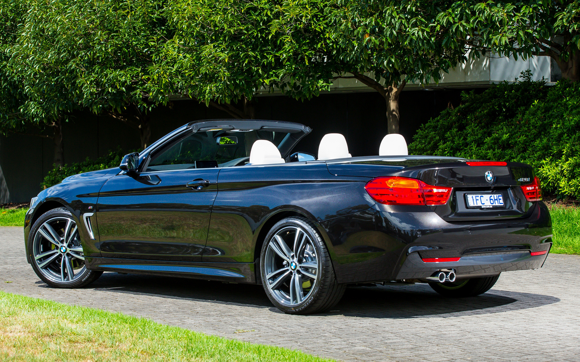 All Car Brands >> 2014 BMW 4 Series Convertible M Sport (AU) - Wallpapers ...