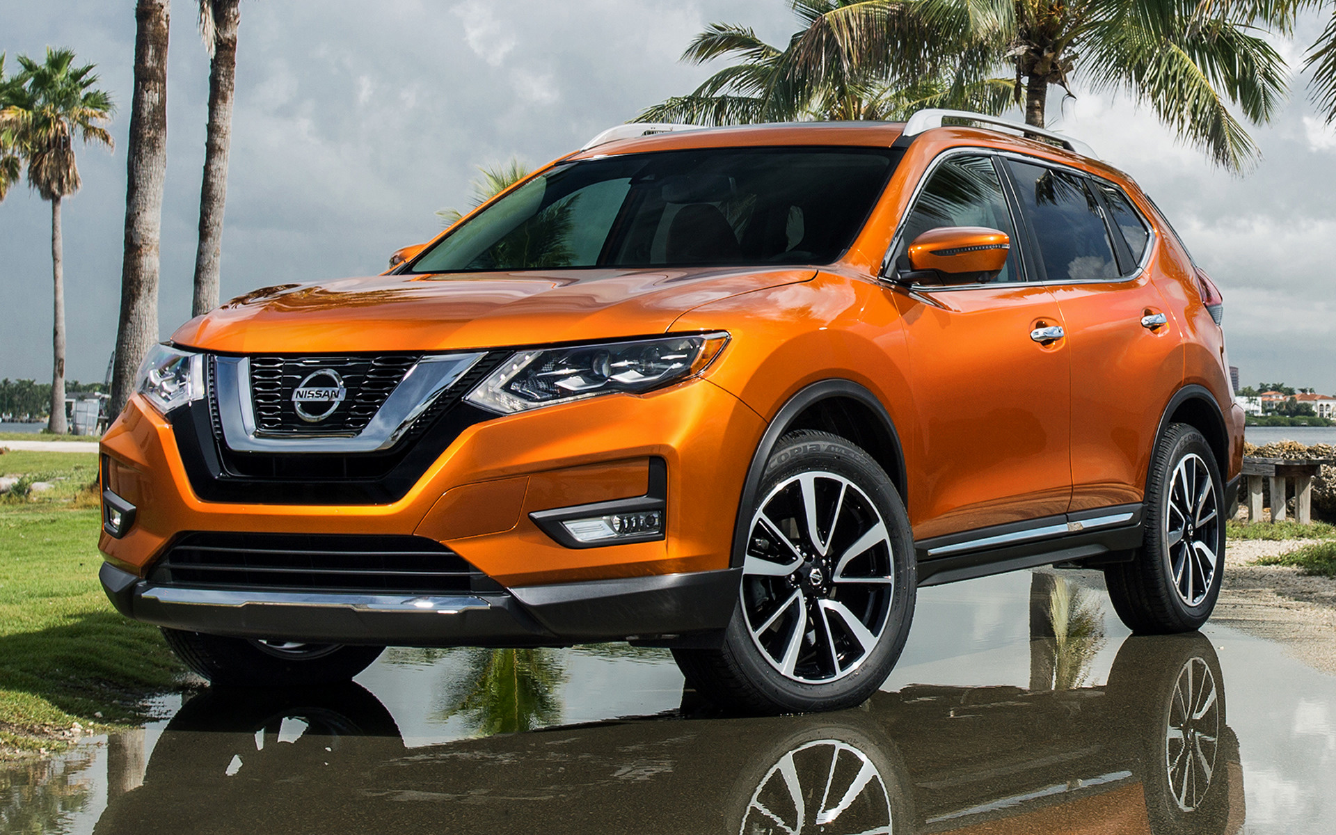 2017 Nissan Rogue SL - Wallpapers and HD Images | Car Pixel
