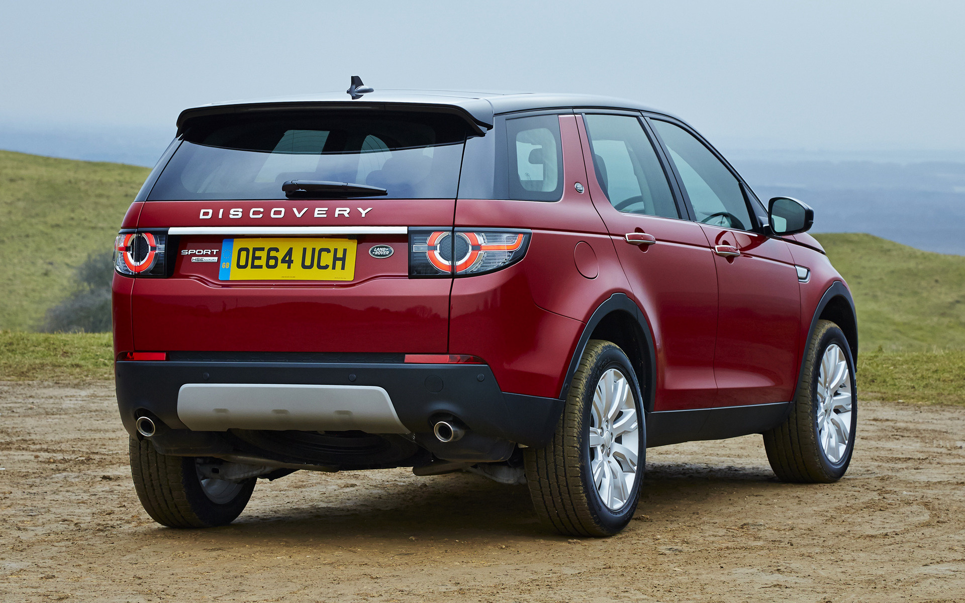 land rover discovery sport hse luxury 2015 uk wallpapers. Black Bedroom Furniture Sets. Home Design Ideas