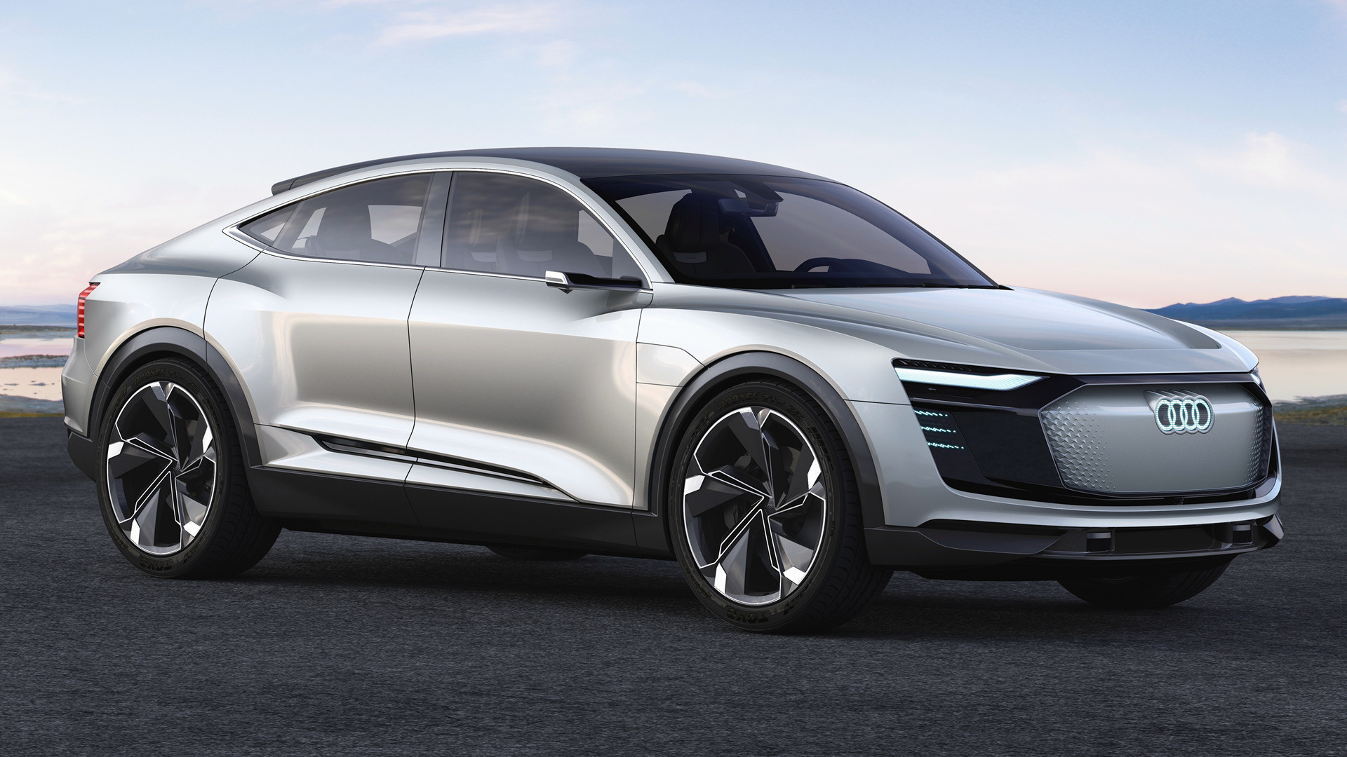 Audi e-tron Sportback concept (2017) Wallpapers and HD Images - Car ...