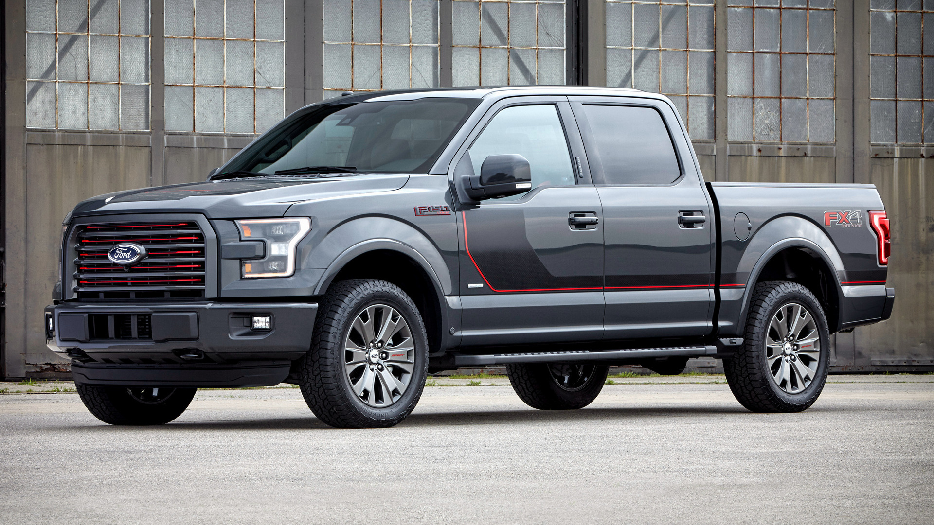 Ford F-150 Lariat FX4 SuperCrew Appearance Package (2016) Wallpapers ...