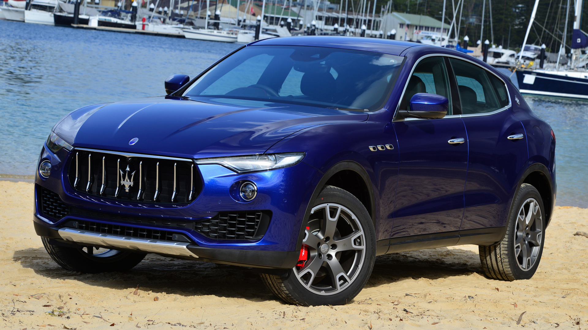 2016 maserati levante au wallpapers and hd images car pixel - Maserati levante wallpaper ...