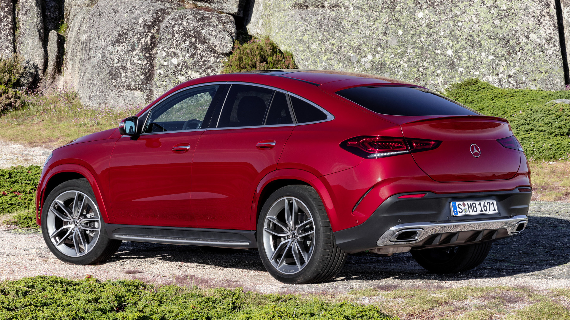 2019 mercedes benz gle class coupe amg line tapety na. Black Bedroom Furniture Sets. Home Design Ideas
