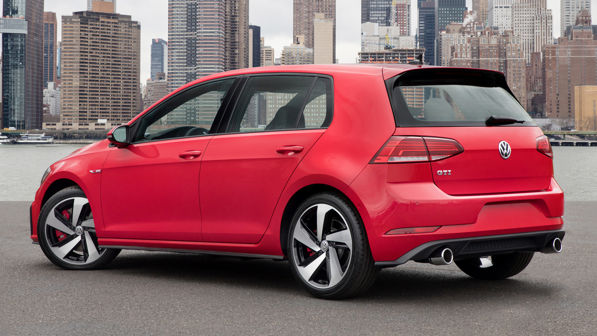 2018 volkswagen golf gti 5 door us wallpapers and hd. Black Bedroom Furniture Sets. Home Design Ideas