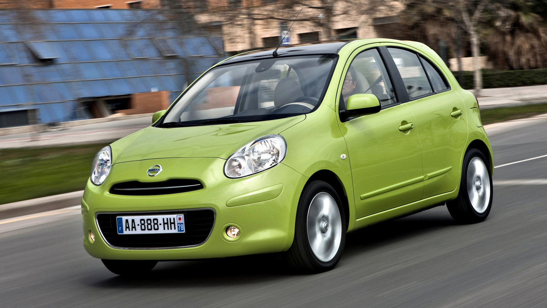 nissan micra 2010 wallpapers and hd images car pixel. Black Bedroom Furniture Sets. Home Design Ideas