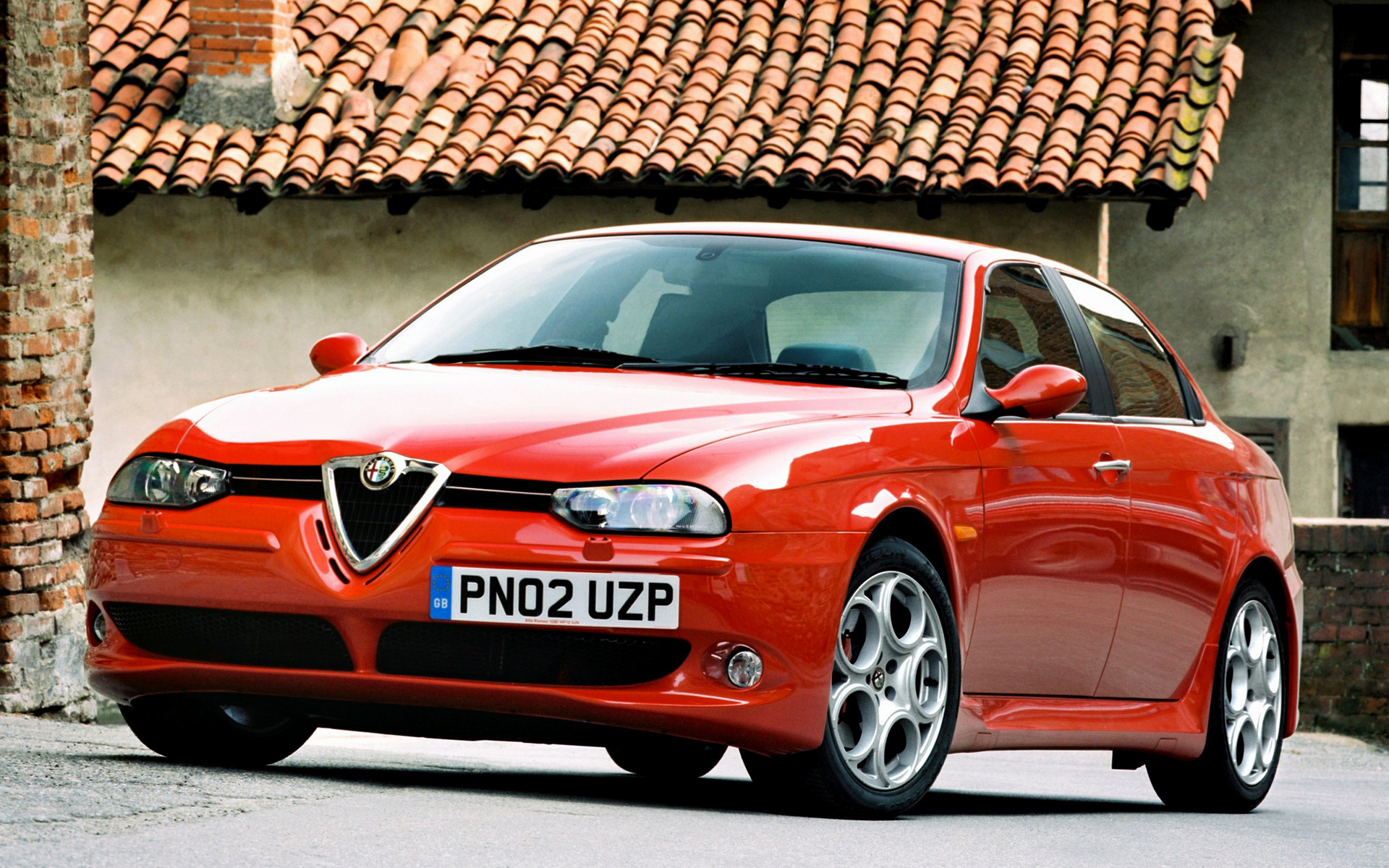 2002 alfa romeo 156 gta uk wallpapers and hd images car pixel. Black Bedroom Furniture Sets. Home Design Ideas