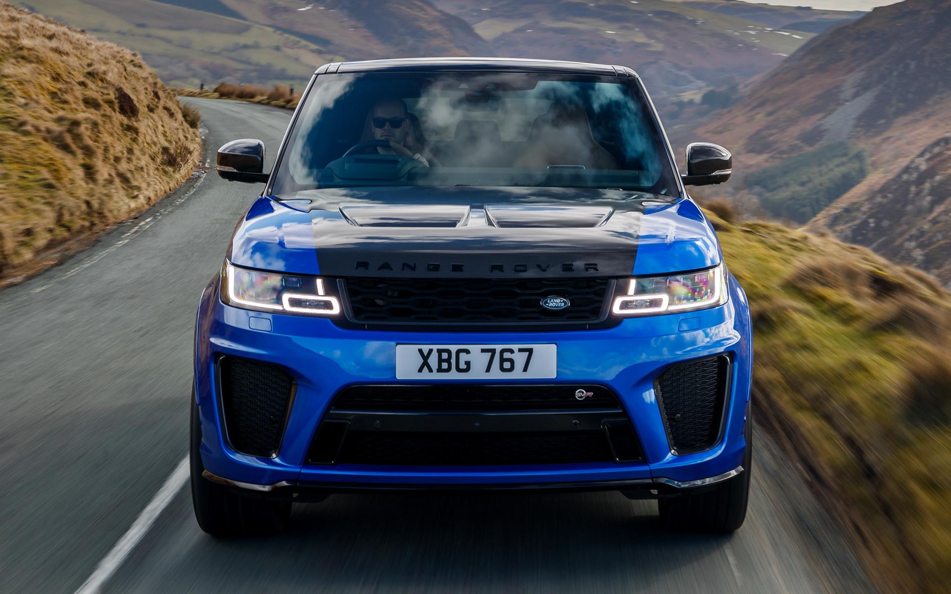 Lexus F Sport >> 2018 Range Rover Sport SVR (UK) - Wallpapers and HD Images | Car Pixel