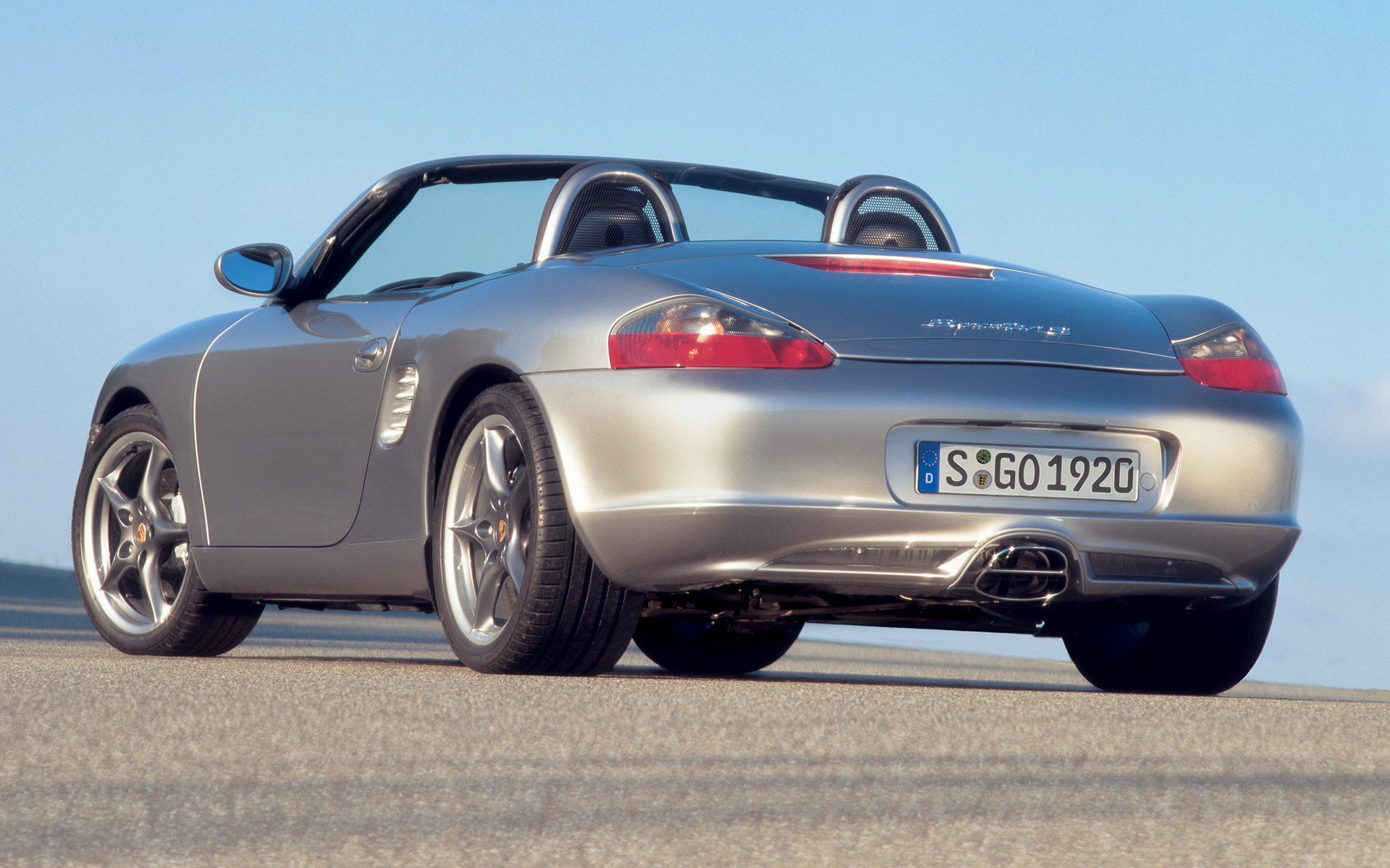 Porsche Boxster S 50 Years 550 Spyder 2004 Wallpapers