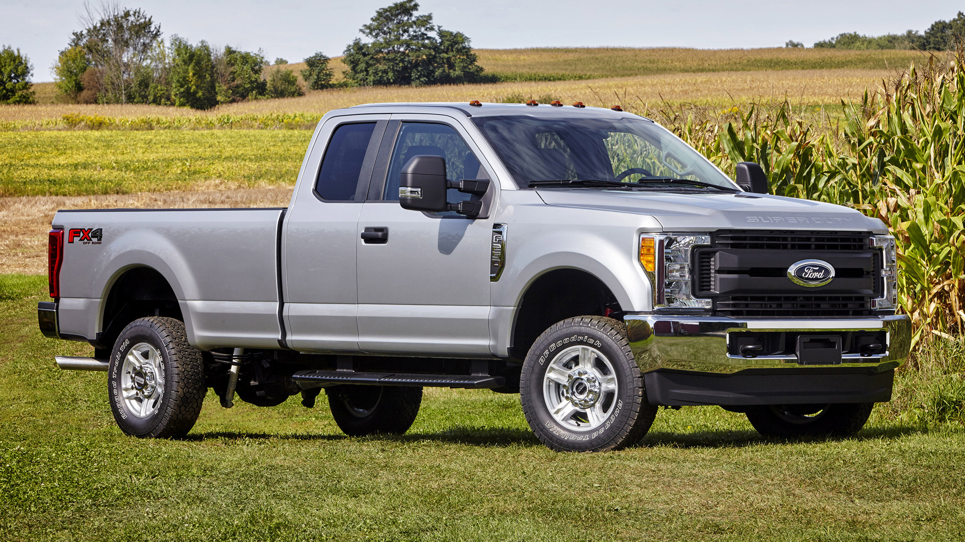 Ford F-250 XL FX4 Super Cab (2017) Wallpapers and HD Images - Car ...