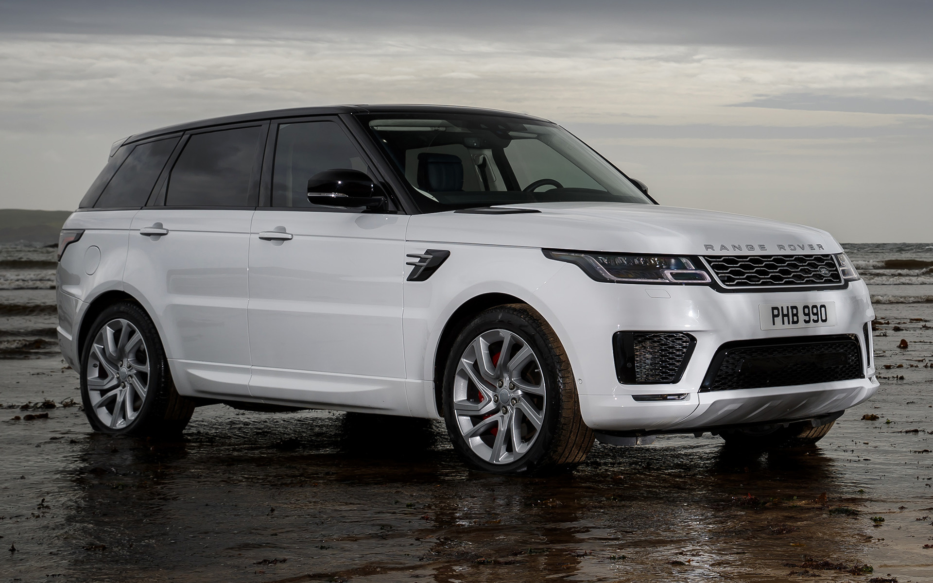 range rover sport plug in hybrid autobiography 2017 wallpapers and hd images car pixel. Black Bedroom Furniture Sets. Home Design Ideas