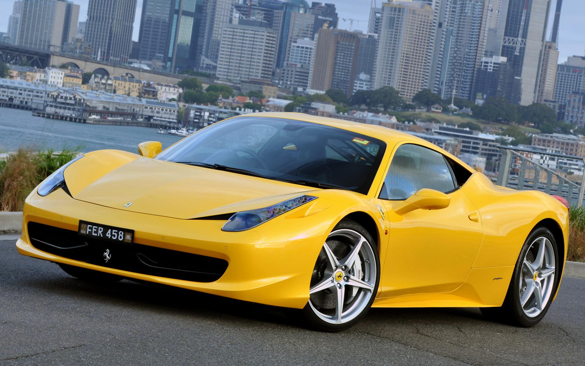 2009 Ferrari 458 Italia Au Papeis De Parede E Imagens De Fundo Em Hd Car Pixel
